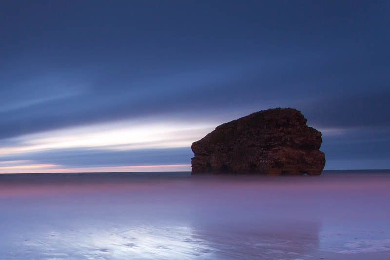 Marsden Rock by Carl Mickleburgh