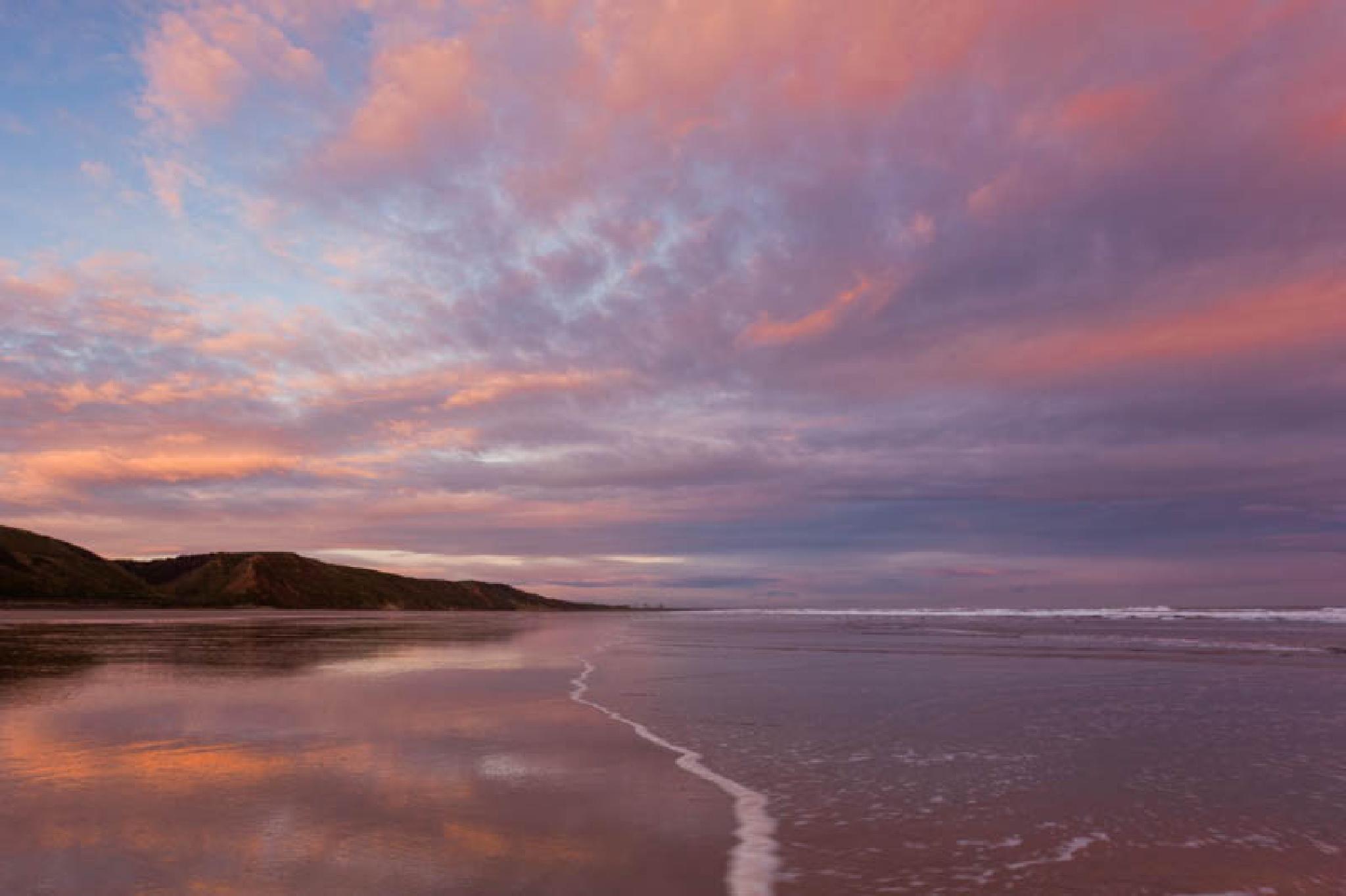 Saltburn, sunrise by Carl Mickleburgh