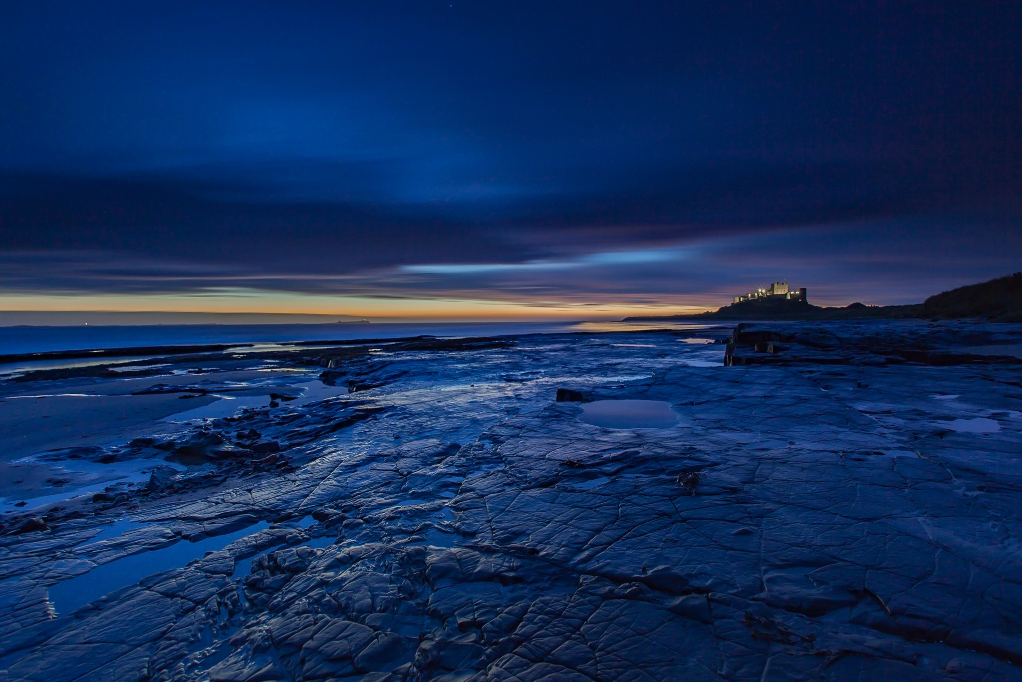 Castle Sunrise  by Carl Mickleburgh