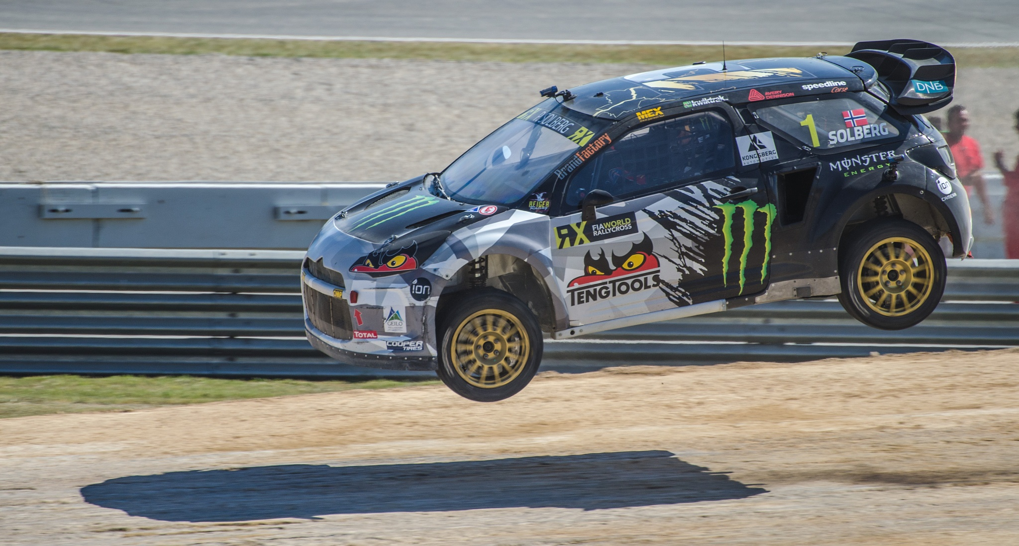 Peter Solberg jump by Josep Zapater