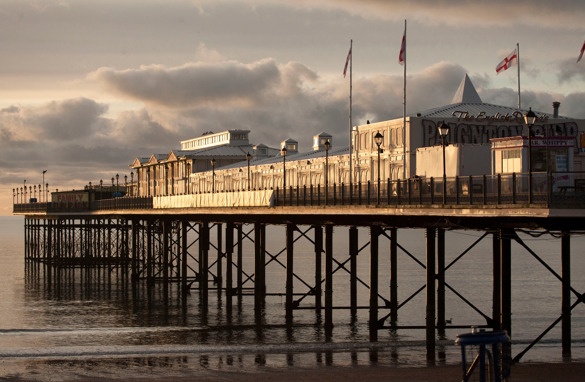English seaside by Andrew Walpole