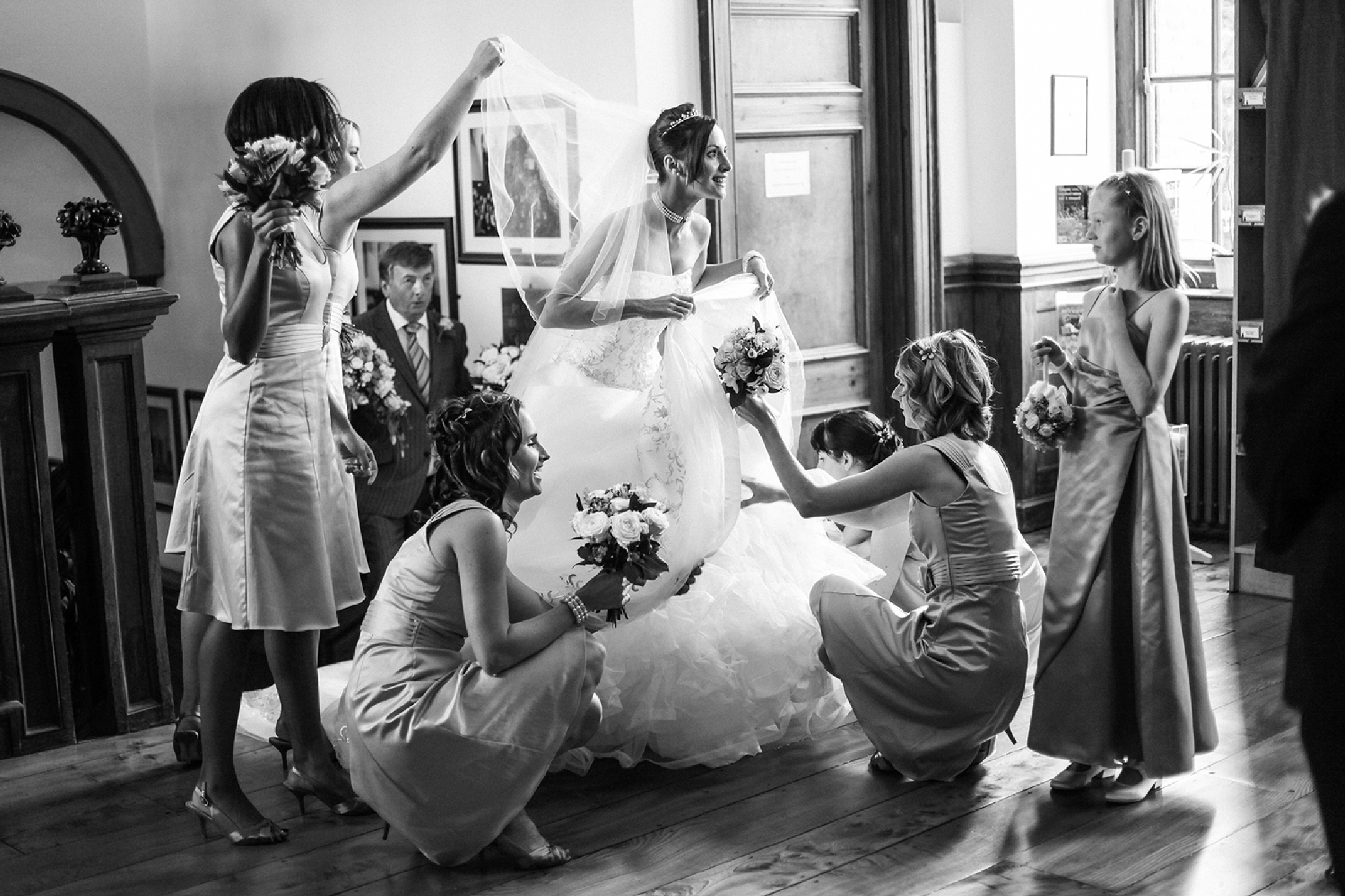 Final bride's preparations by Paul Fletcher