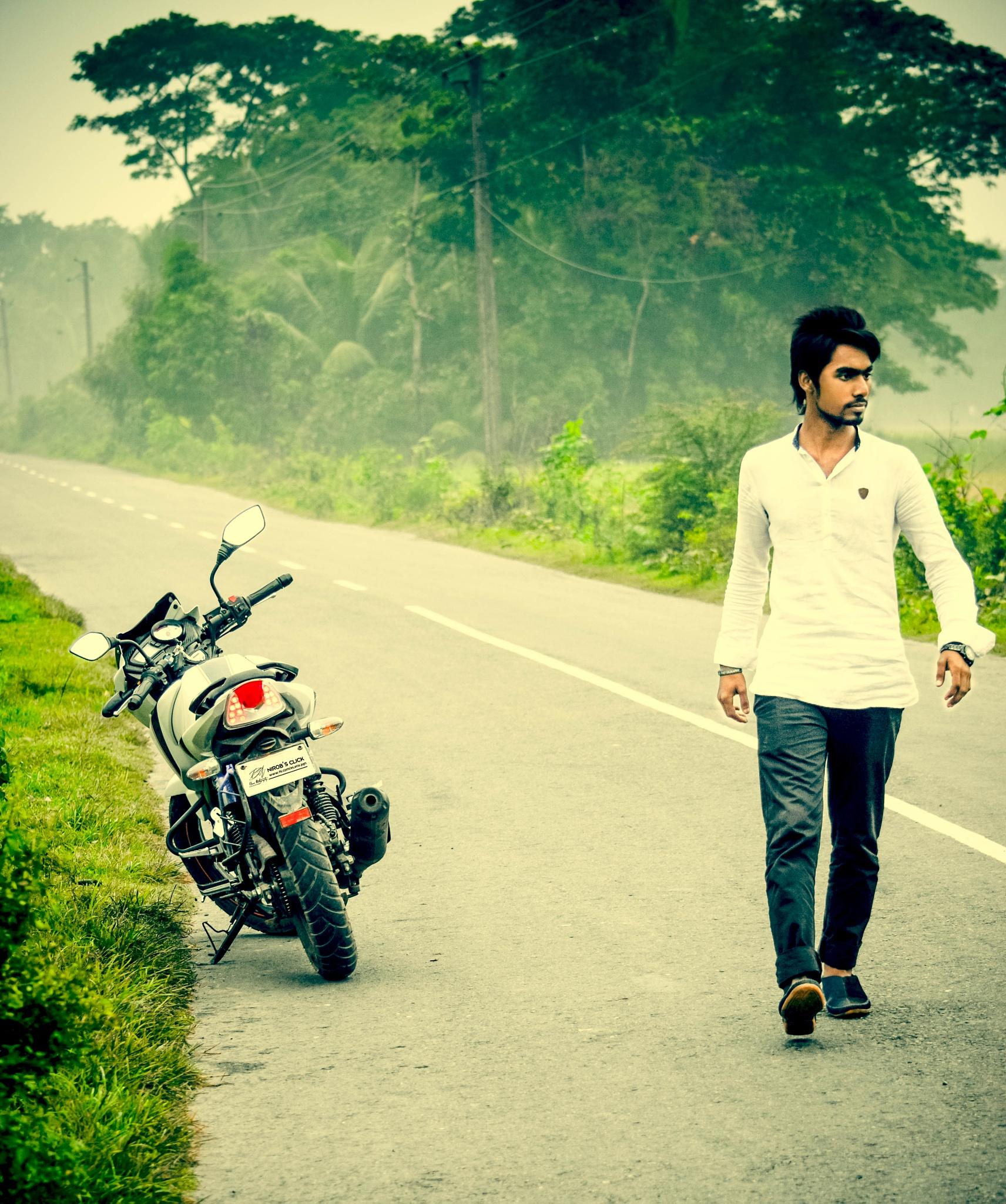 Walking alone by Tuhin Patwary Photography