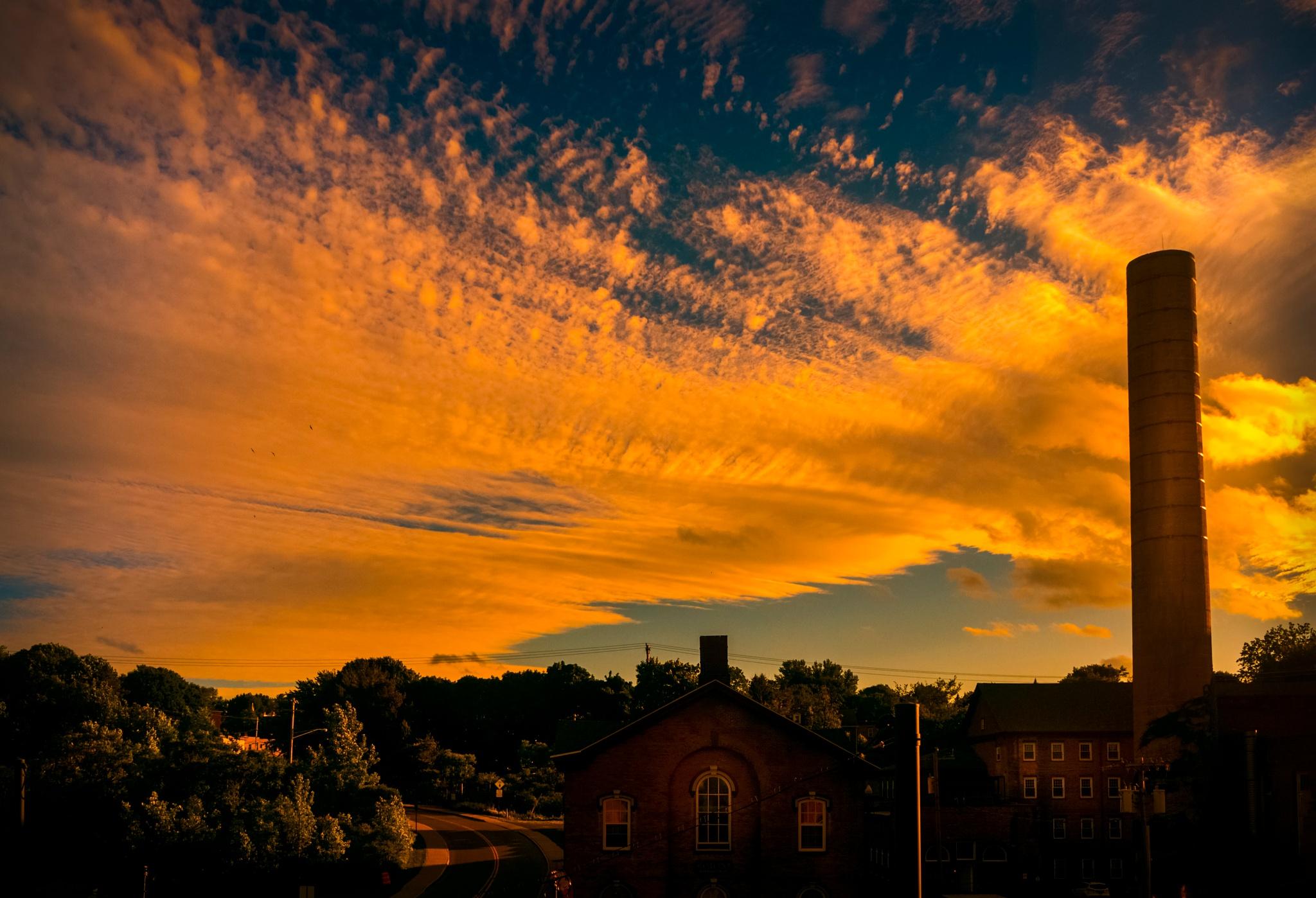 Sunset by ronsunphoto