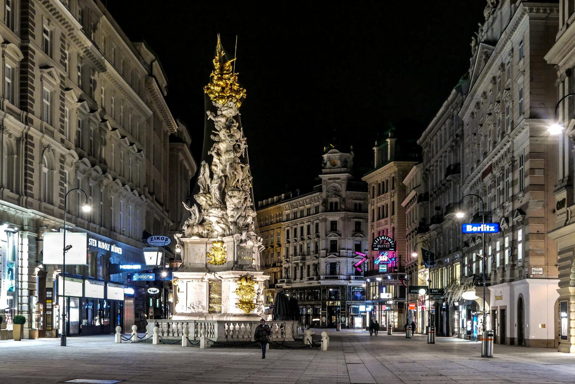 Plague column, Vienna by Chris Panagiotidis