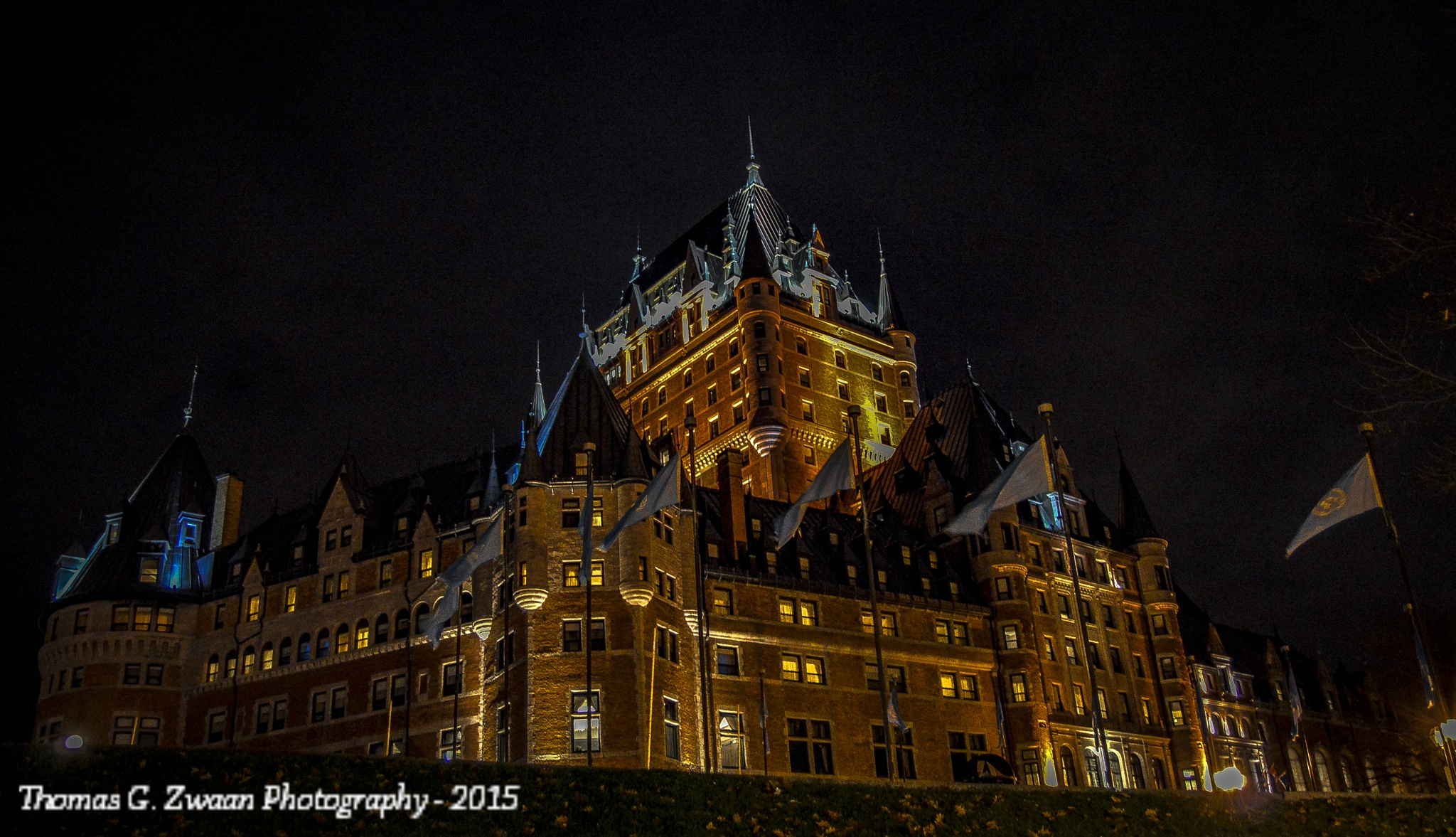 Le Chateau Frontenac by thomasgzwaanPhotography