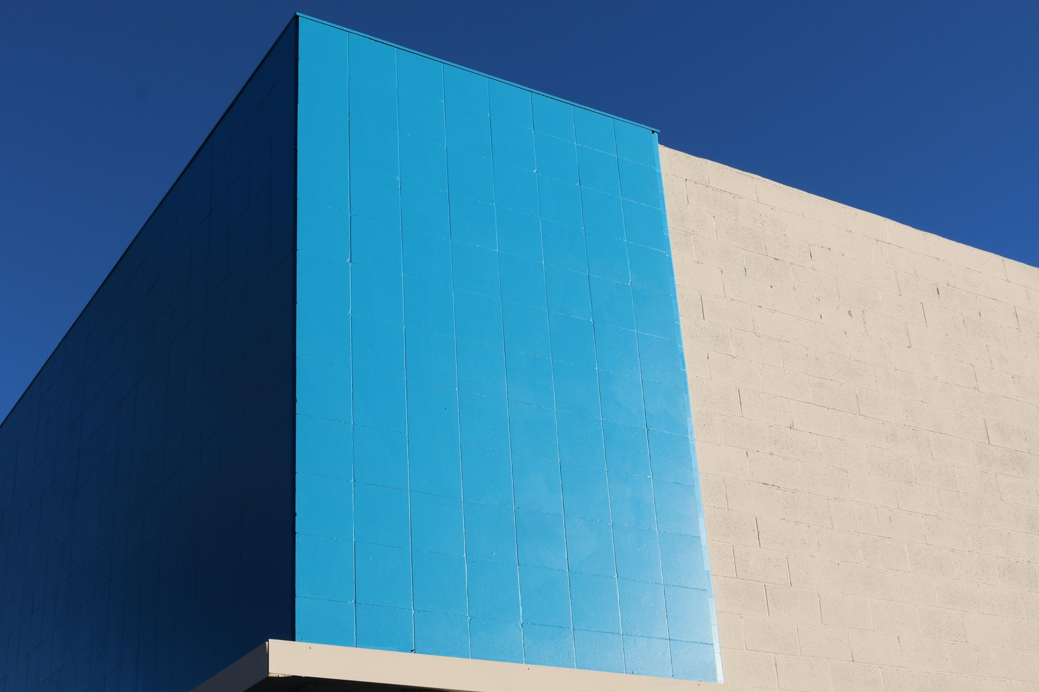 Blue Wall by Tyler Cole