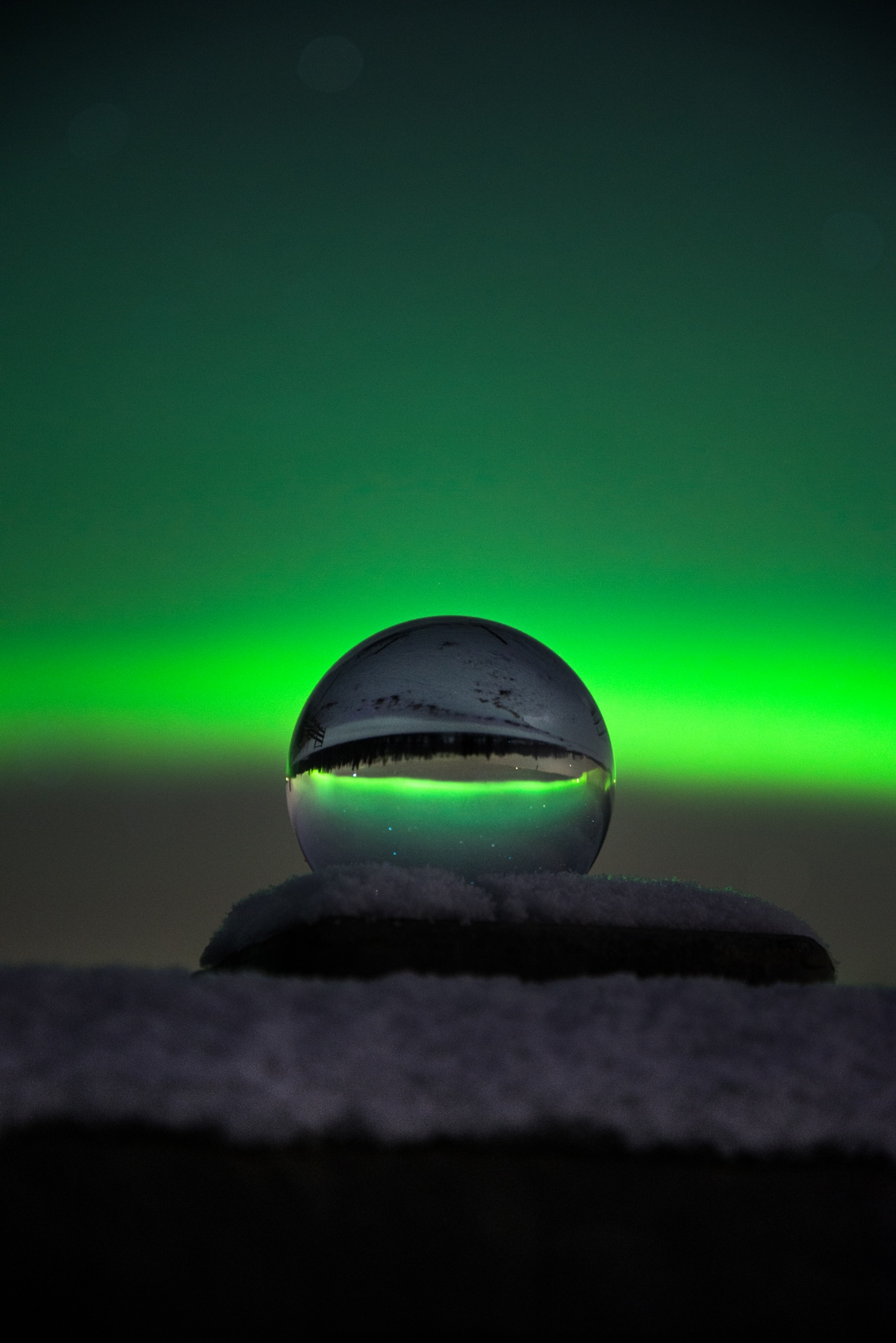 Orby Green Ball by jessemartineau