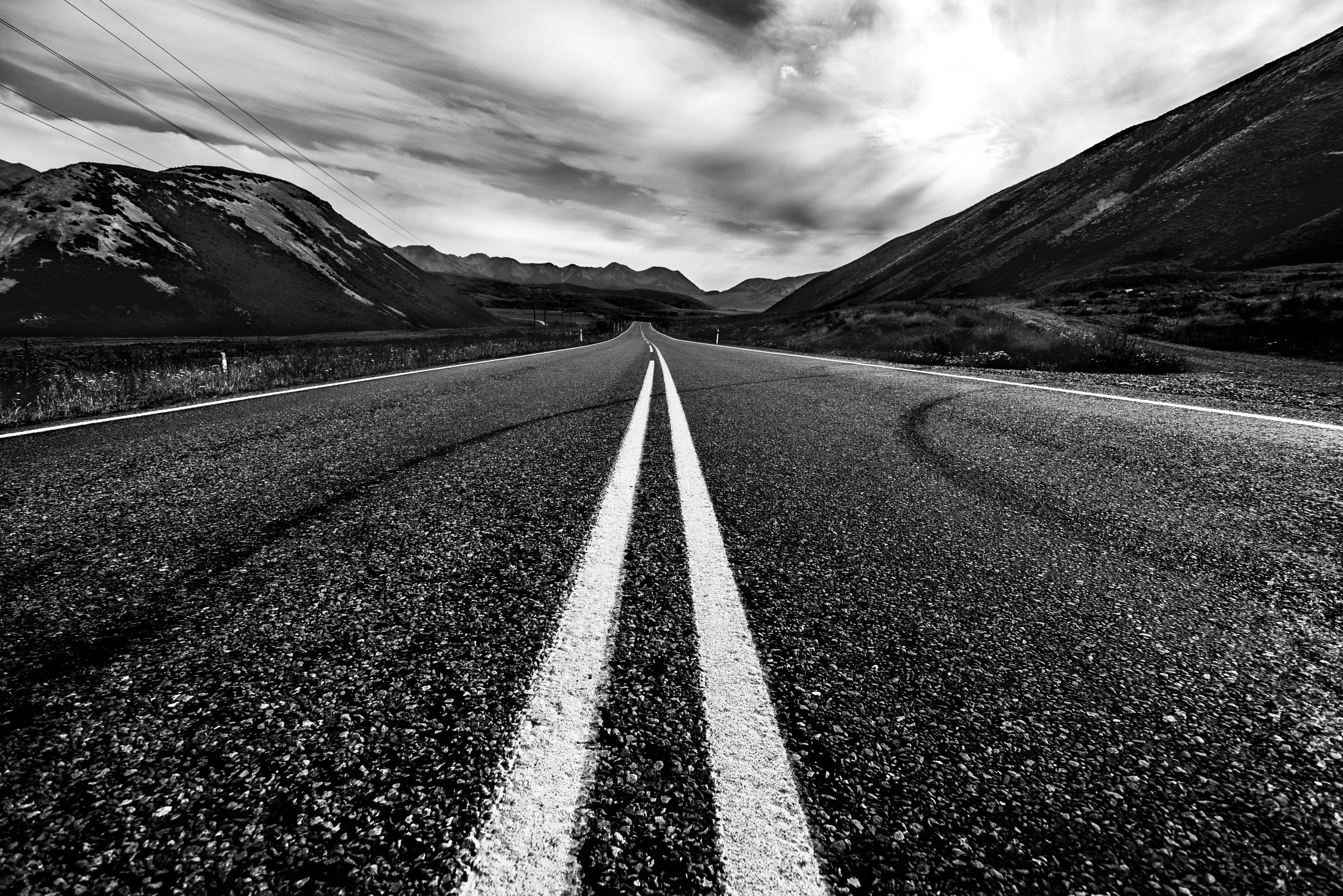 ...this lonely road by Willem Lombard
