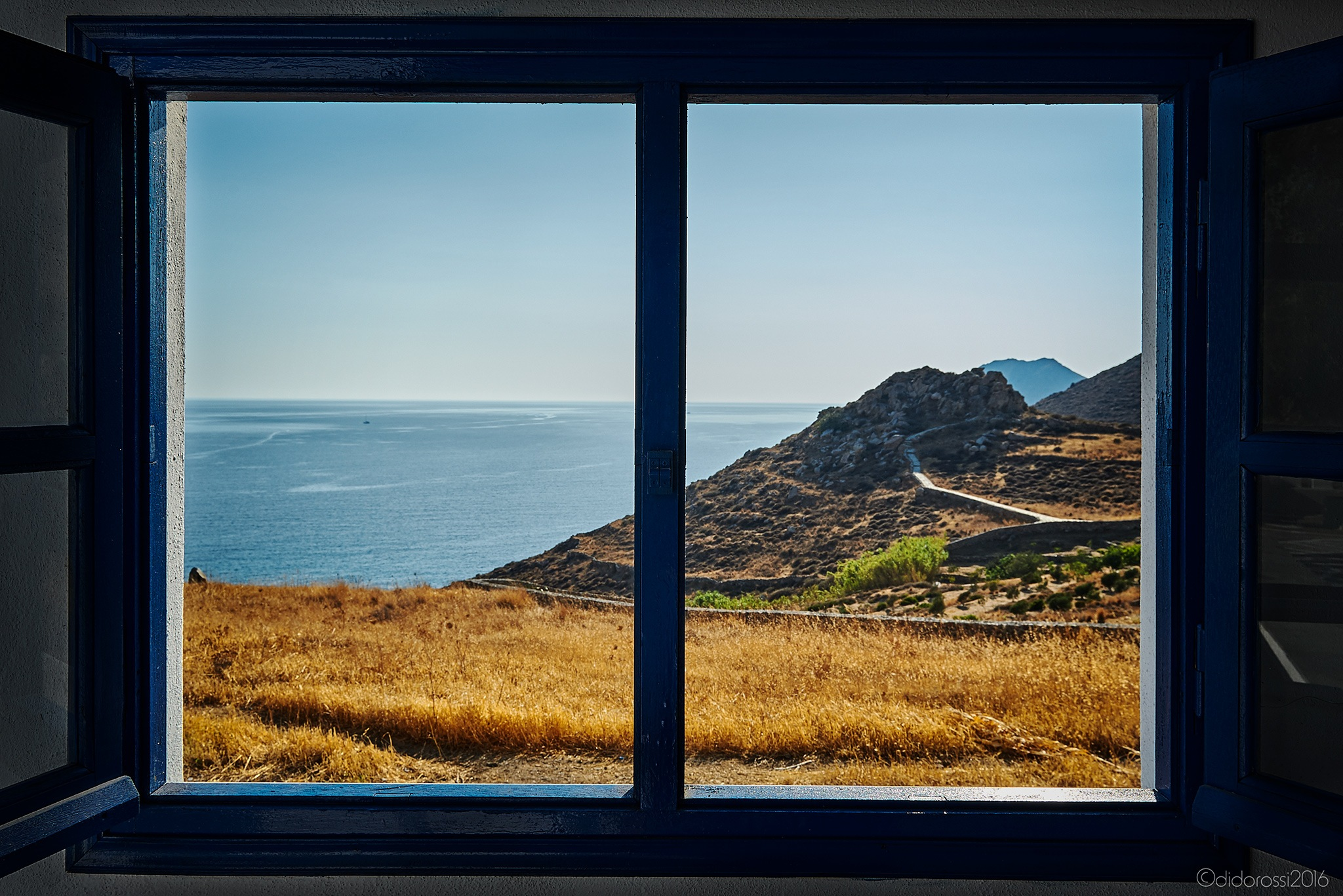 Windows of Serifos by didorossi