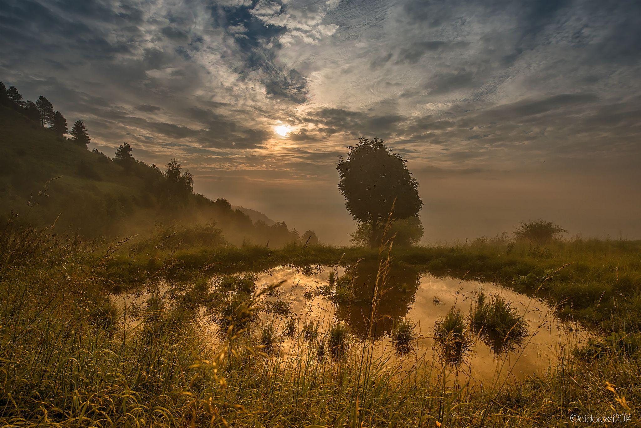 Sunrise Summano by didorossi