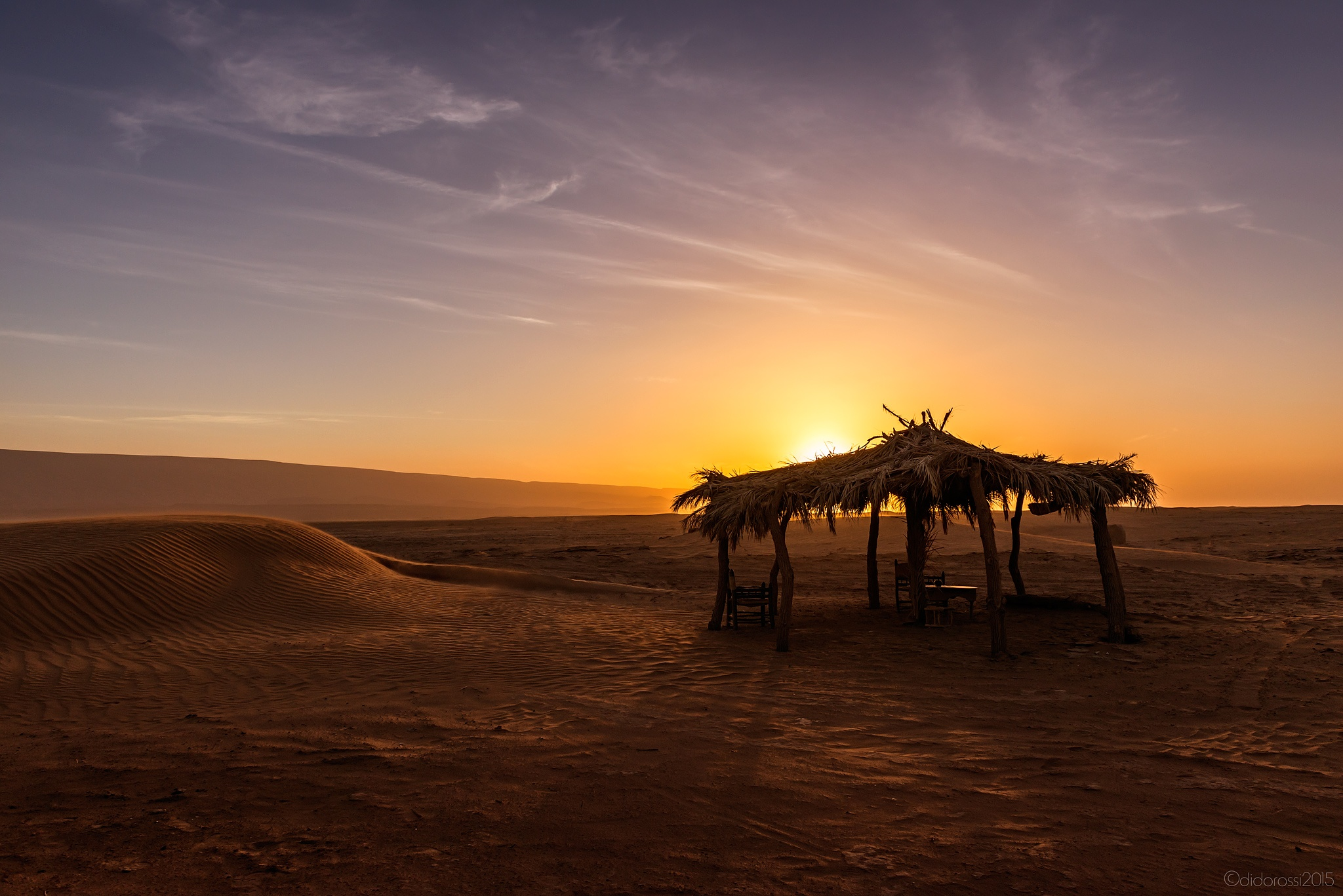 A tea in desert by didorossi