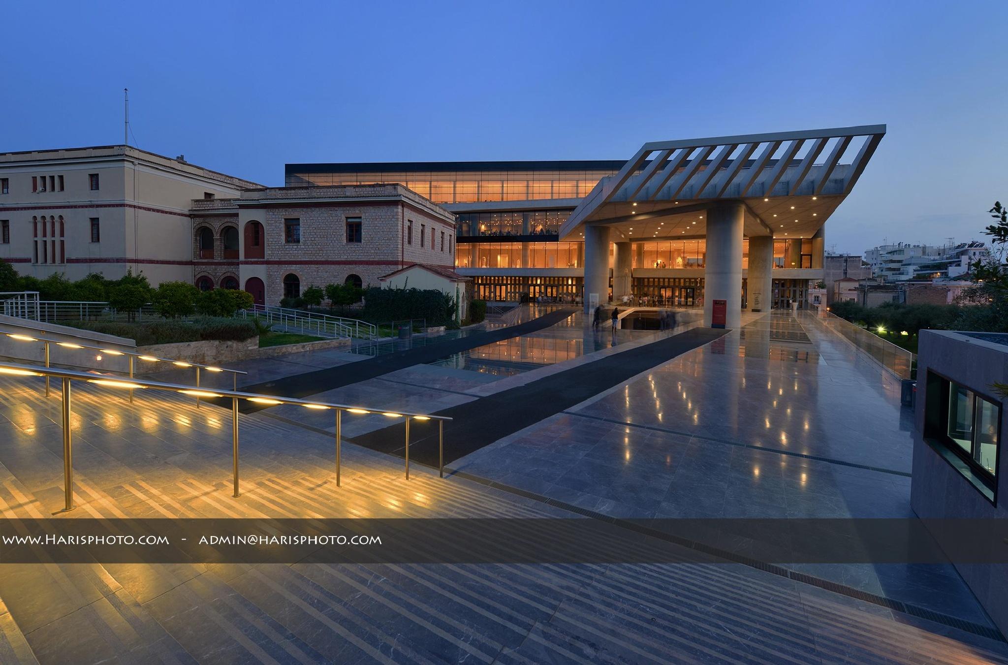 Acropolis Museum by Haris Vithoulkas