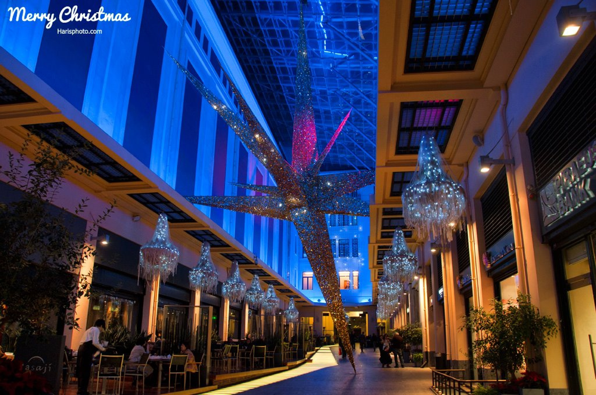 Christmas at Athens by Haris Vithoulkas