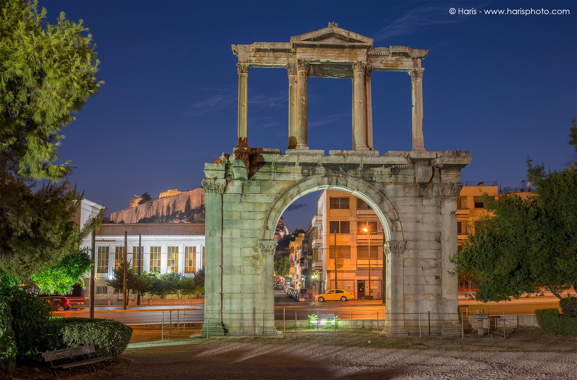 Arch Of Hadrian by Haris Vithoulkas