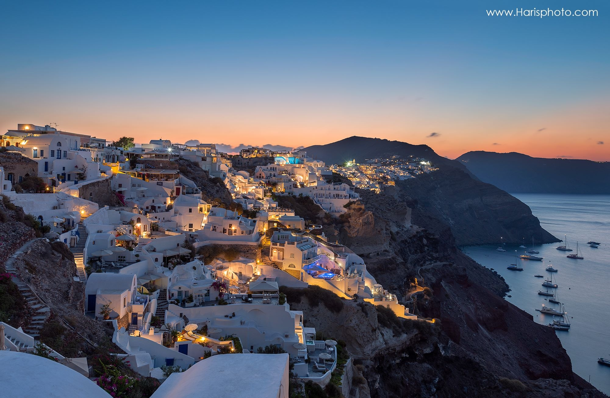 Oia Santorini by Haris Vithoulkas