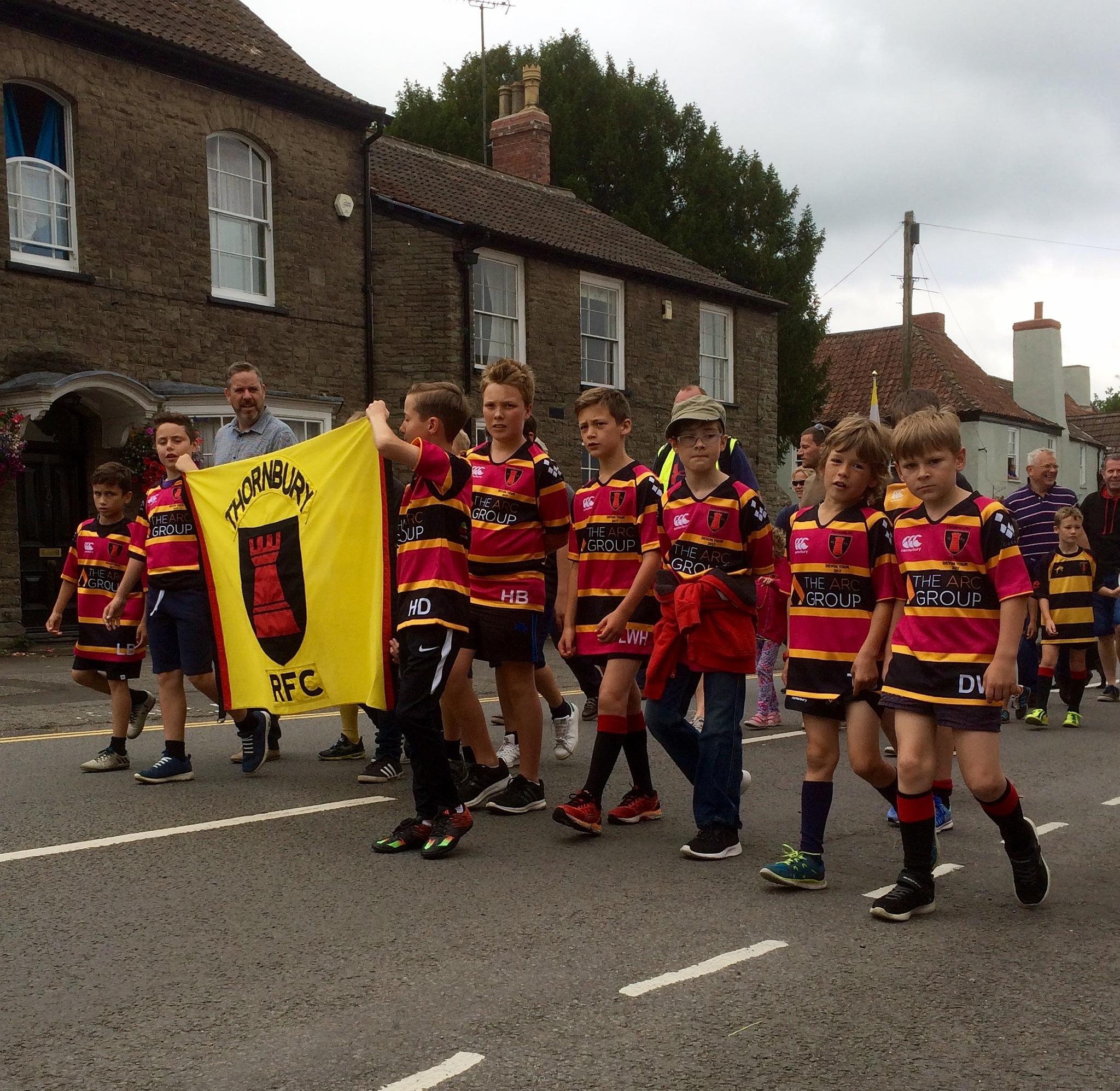 Thornbury Carnival Thornbury RFC by Michele
