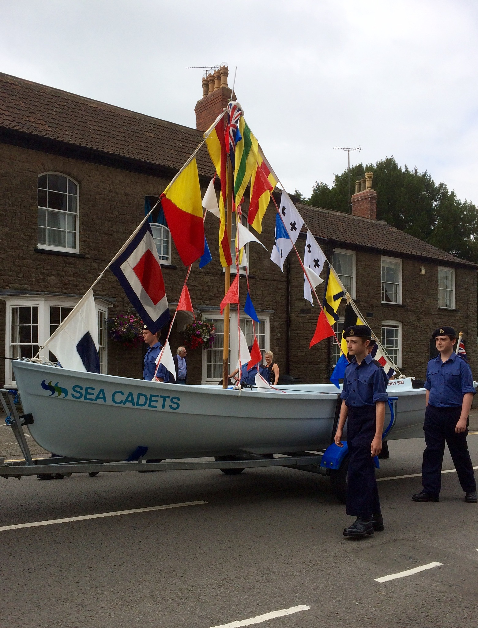Thornbury Carnival Sea Cadets by Michele