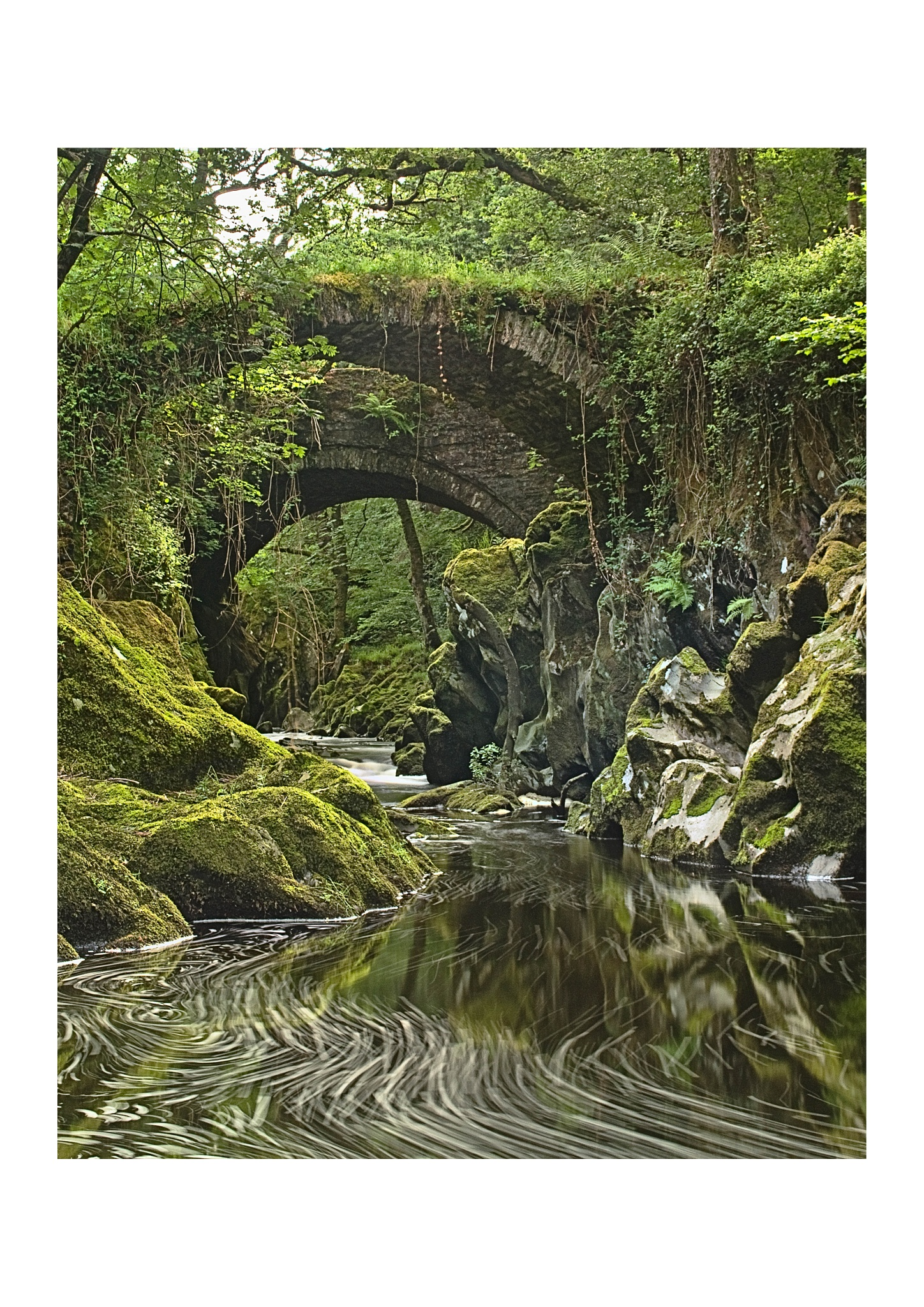 Roman Bridges Penmachno by DaveJones
