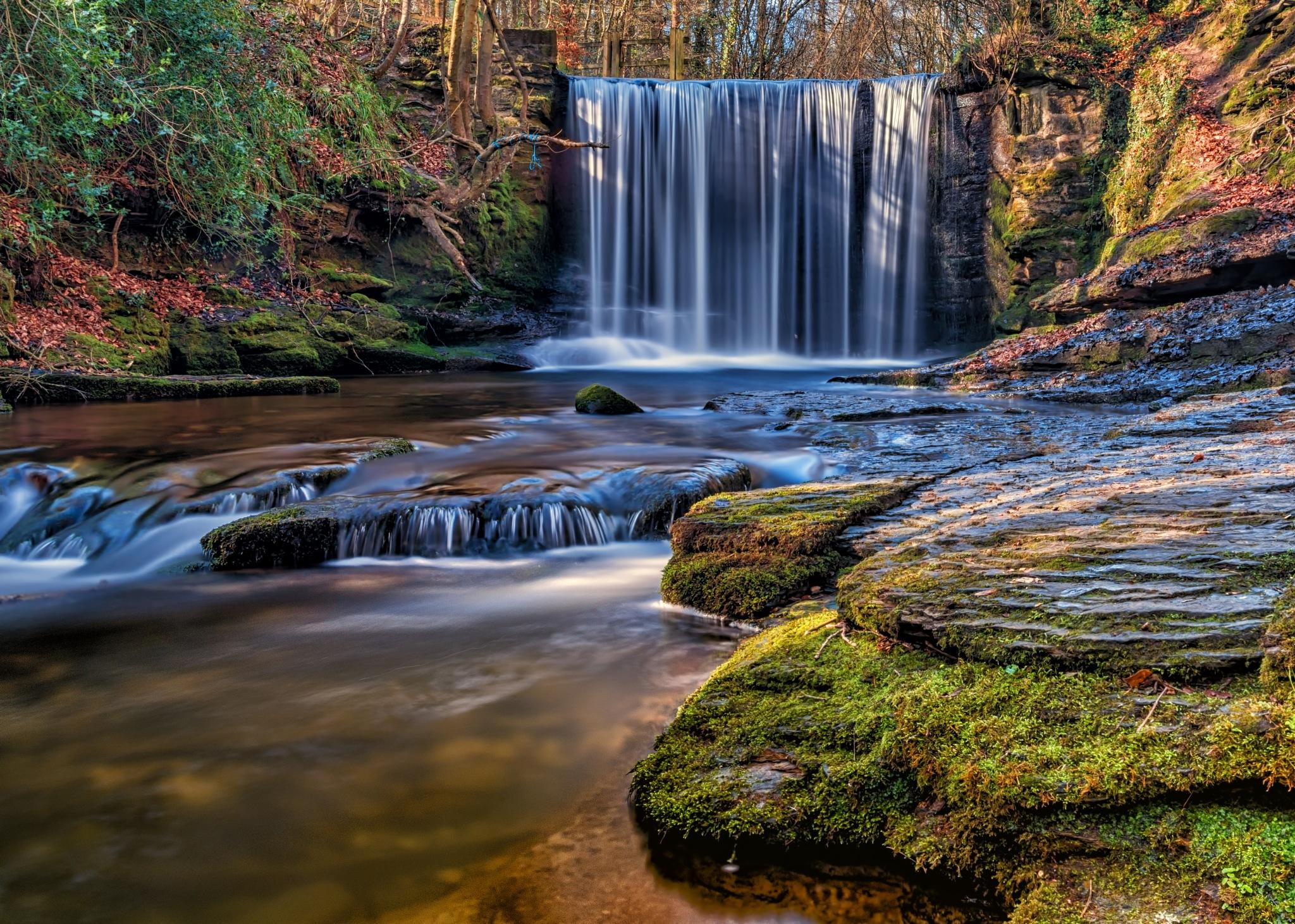 Plas Power Waterfalls by DaveJones