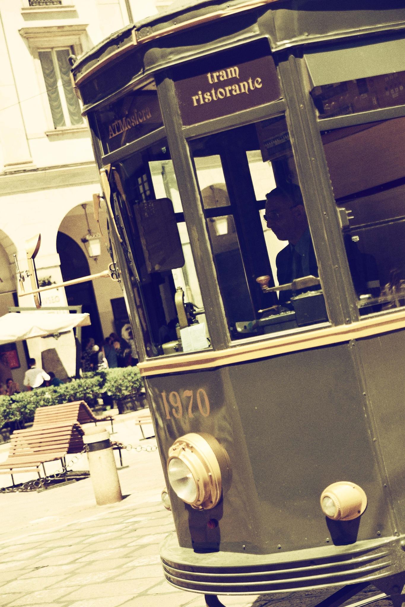 Tram by David H.Rizzi Bucher