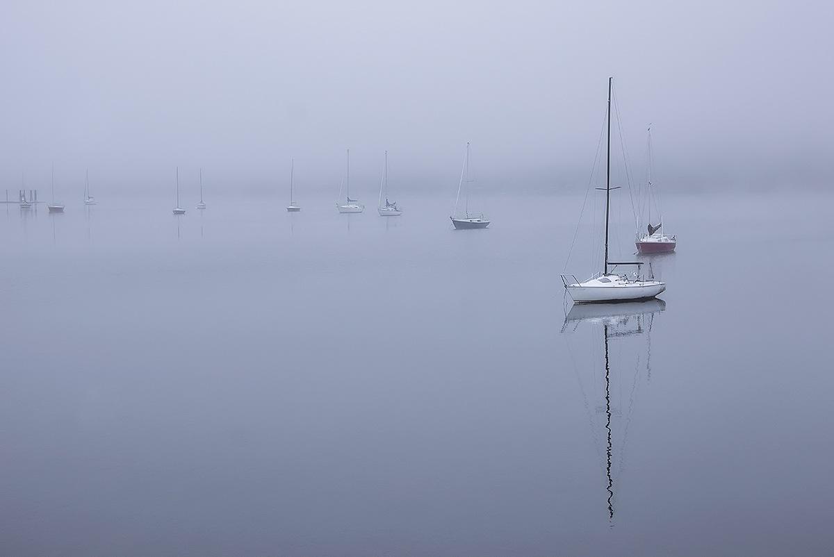 Sailboats by MadeleineGuenette
