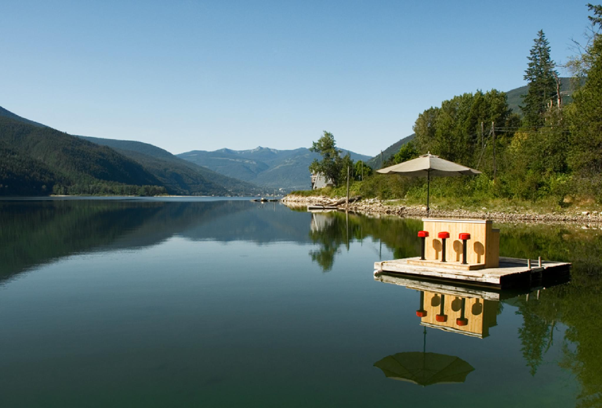 Bar on the lake by MadeleineGuenette