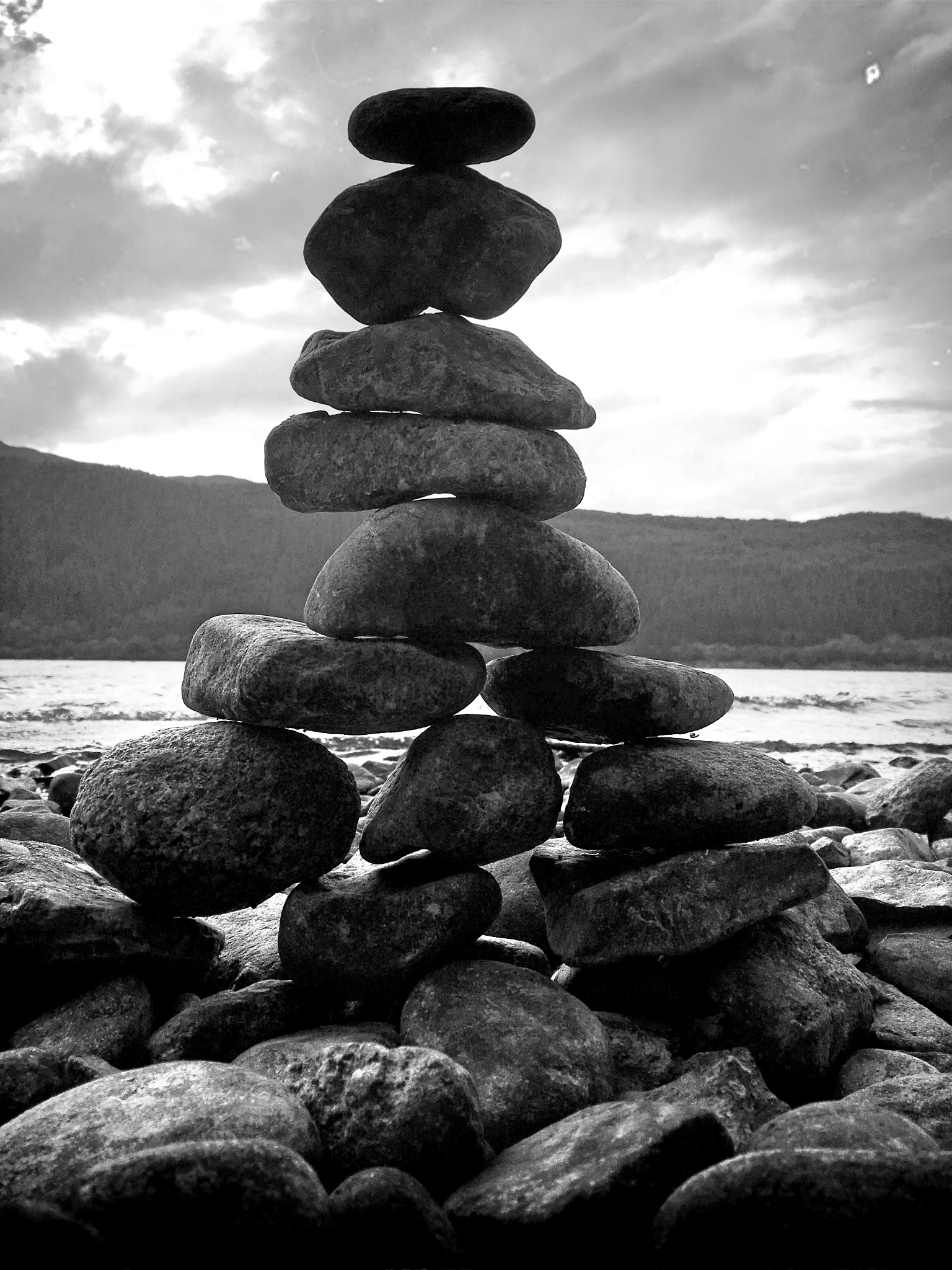 Stone Stack by Paul Stobbs