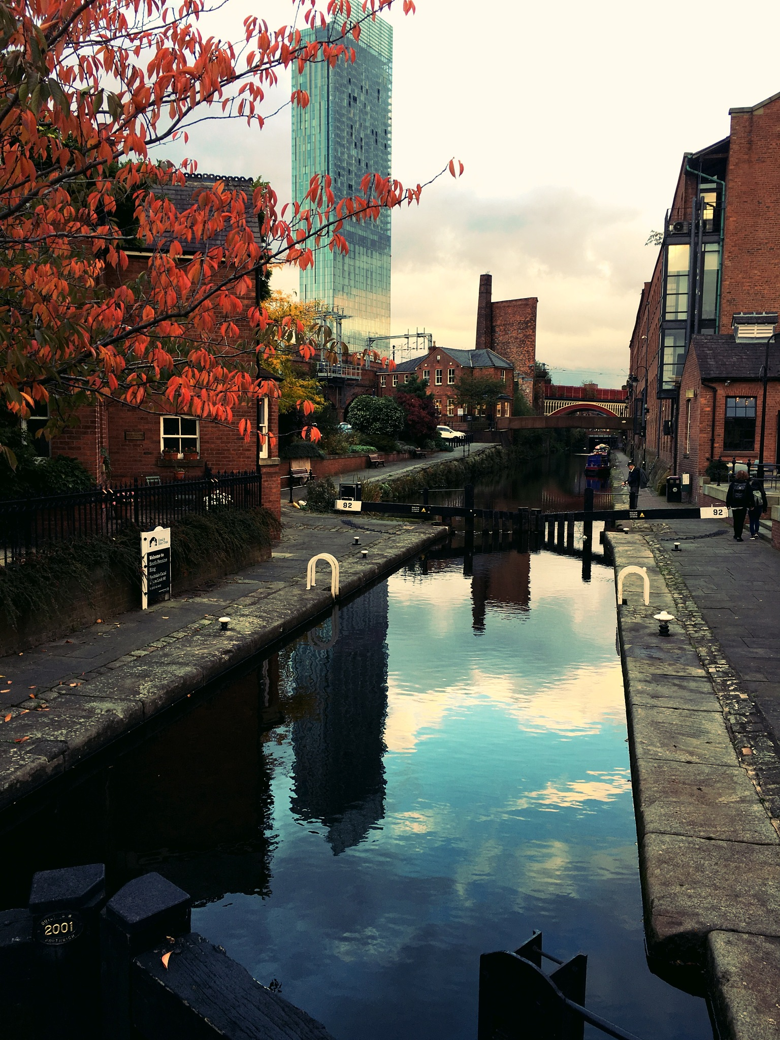 Manchester Canal by Paul Stobbs