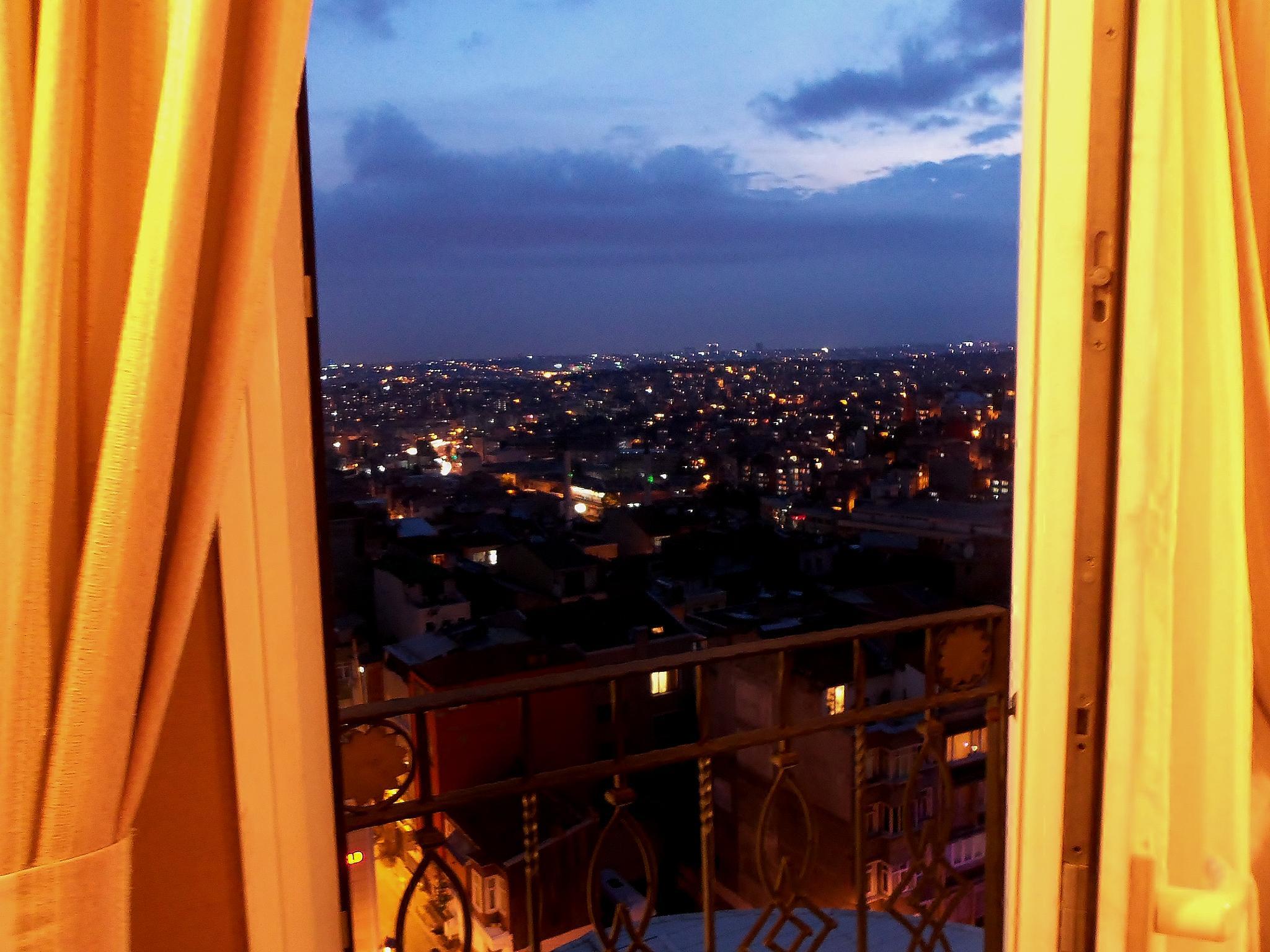 Istanbul from my window  by Raida Saad