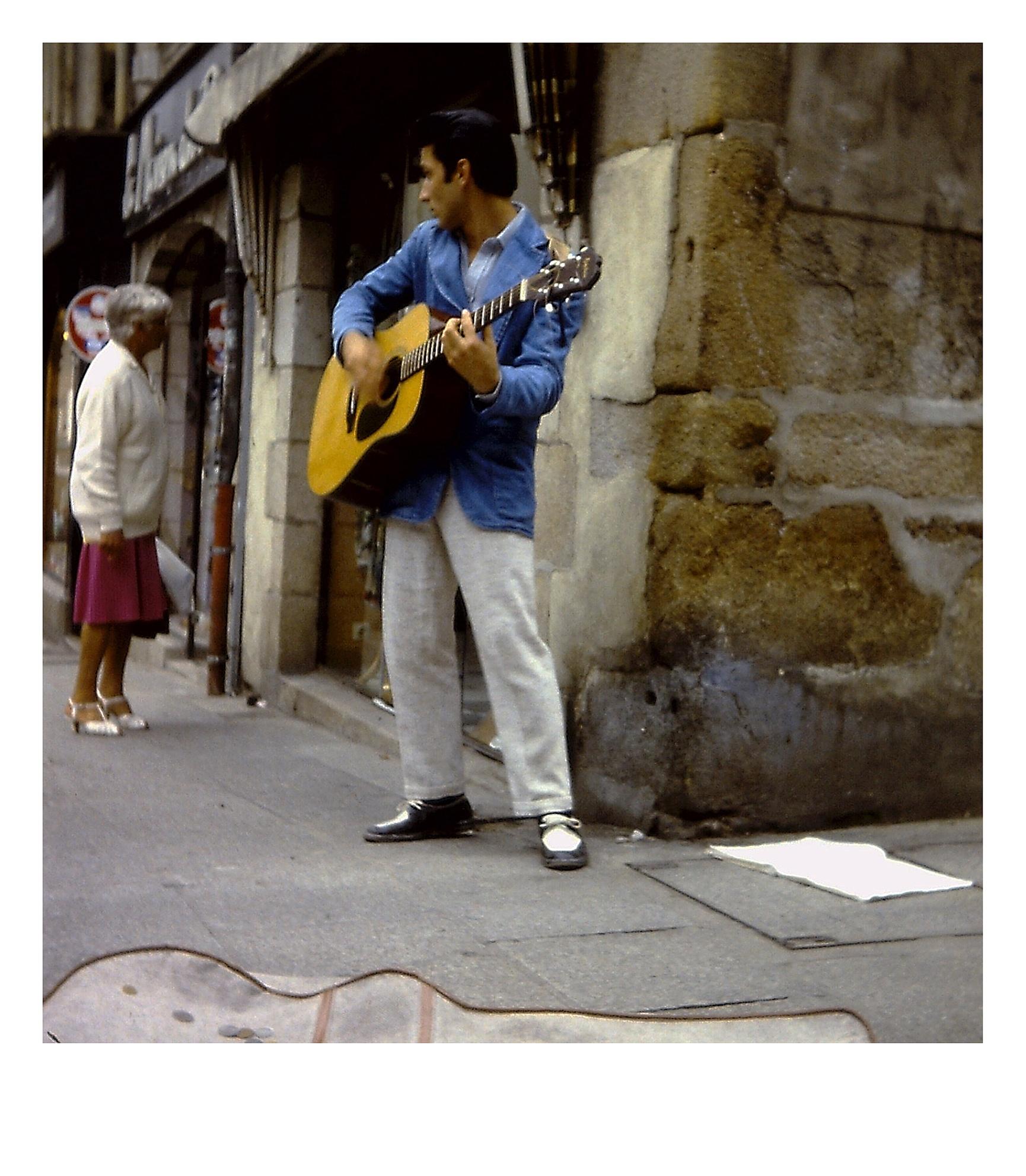 Photo in Street Photography #elvis #street music #guitar #travel