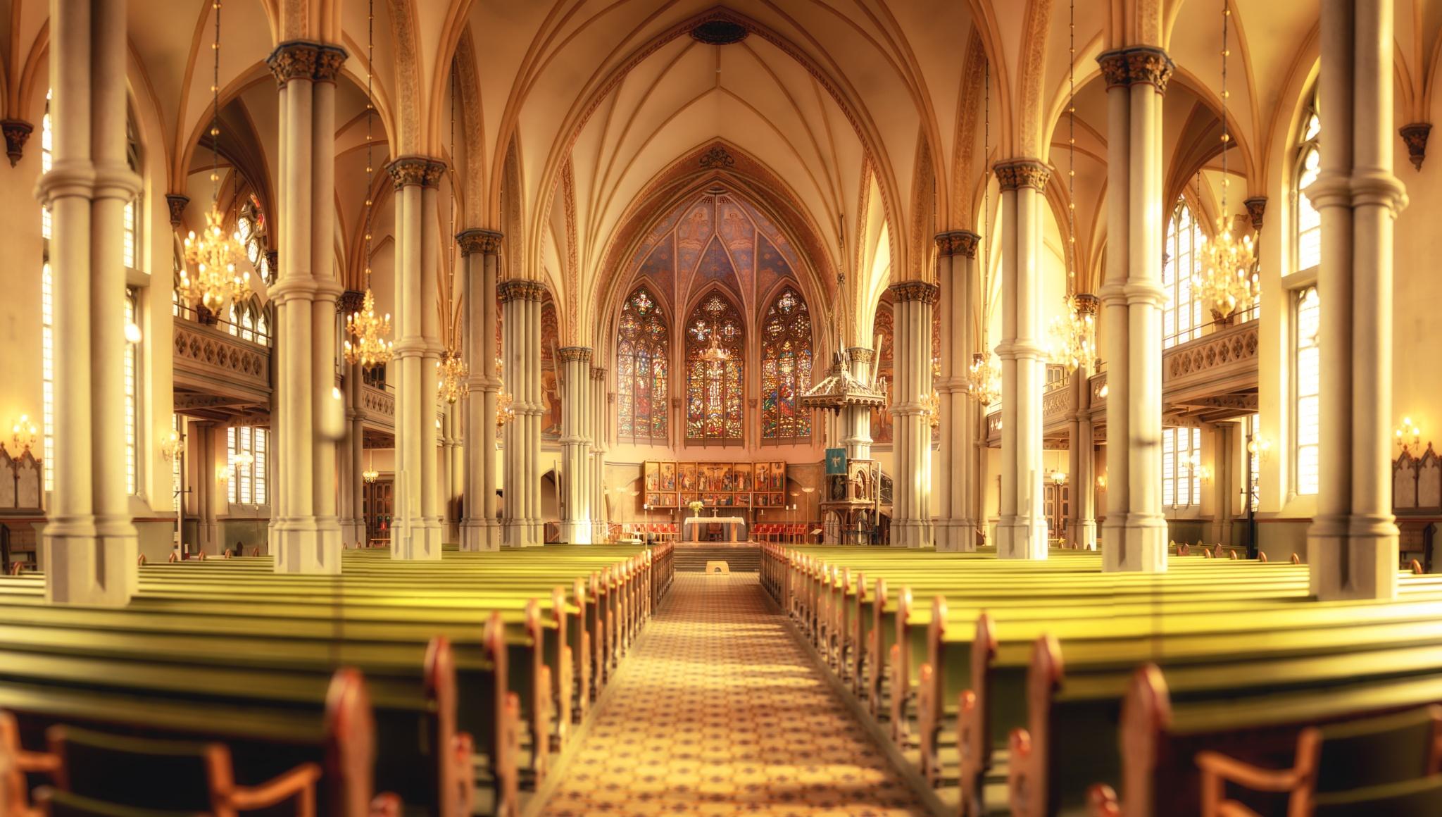 Oscar Fredrik Church by Dominik Bingel