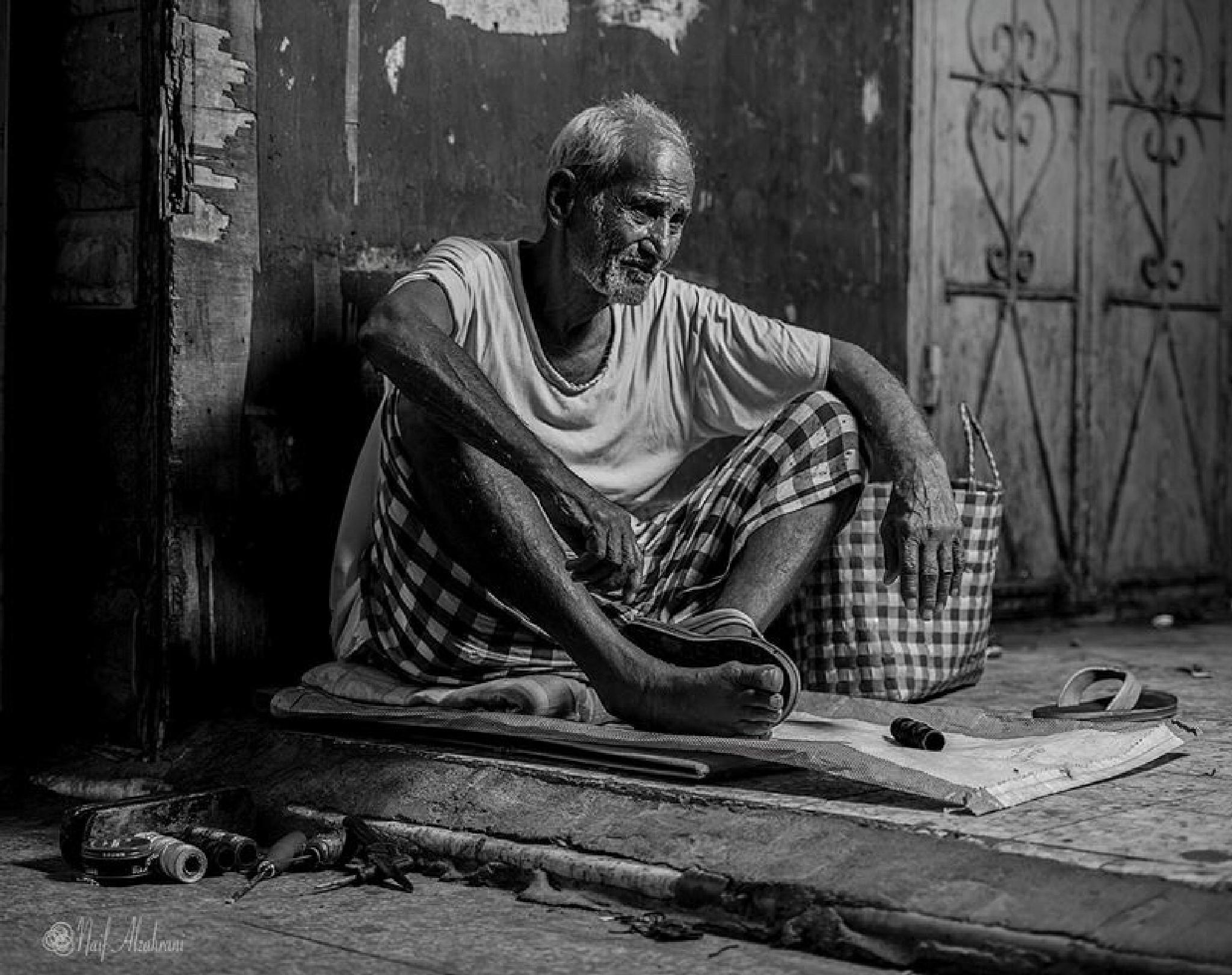 Shoemaker by Naif Saleh Alomari