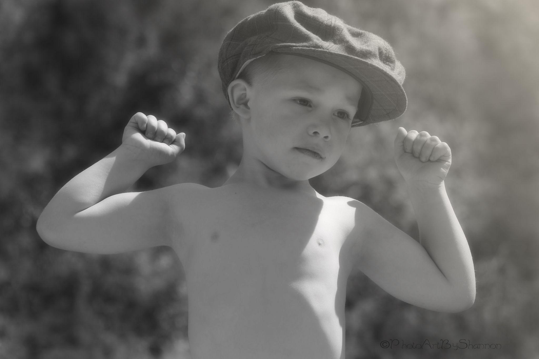 muscle man by Shannon Hreha-kilgore