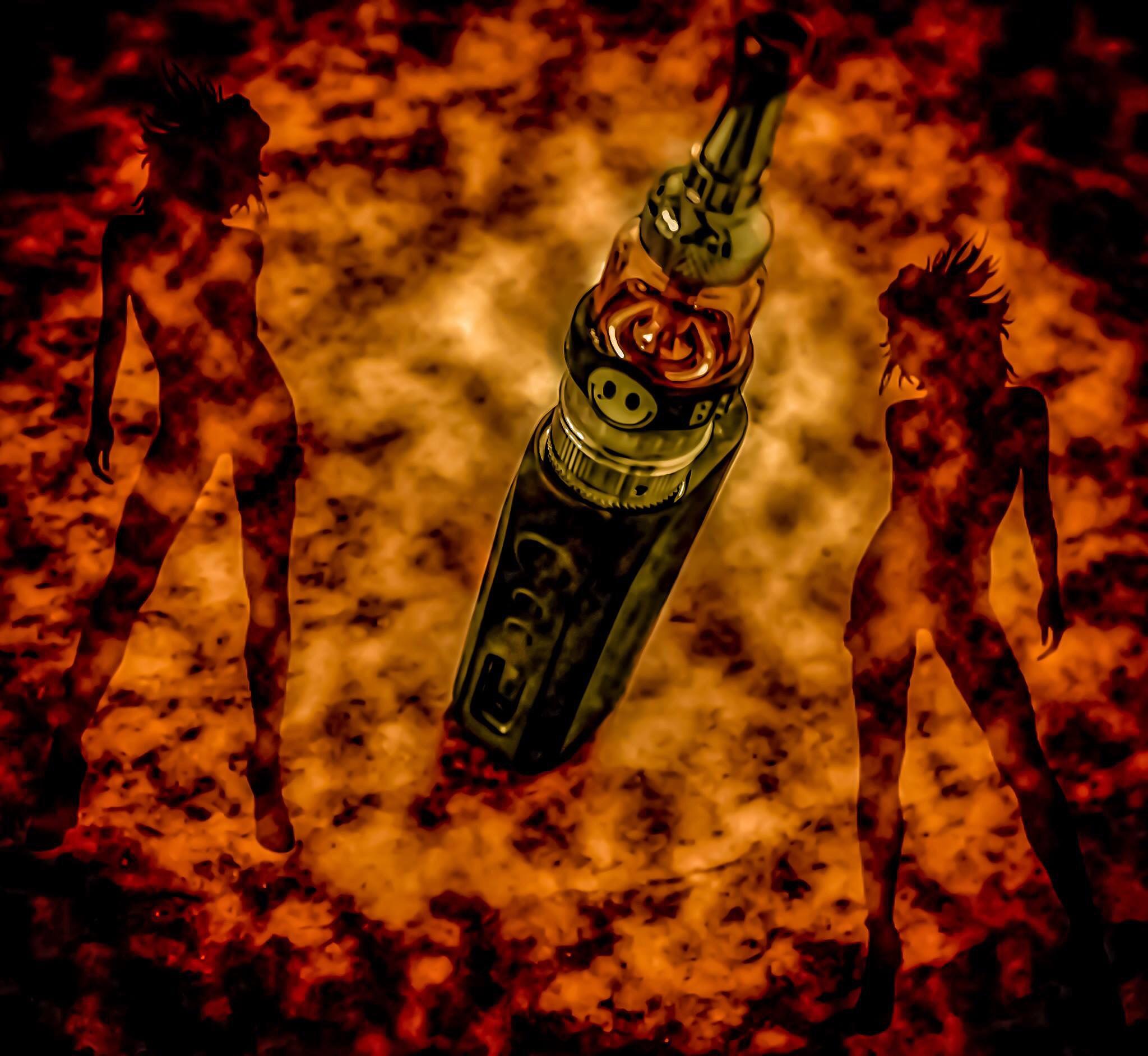 Smokin' hot by Lynn Fritz