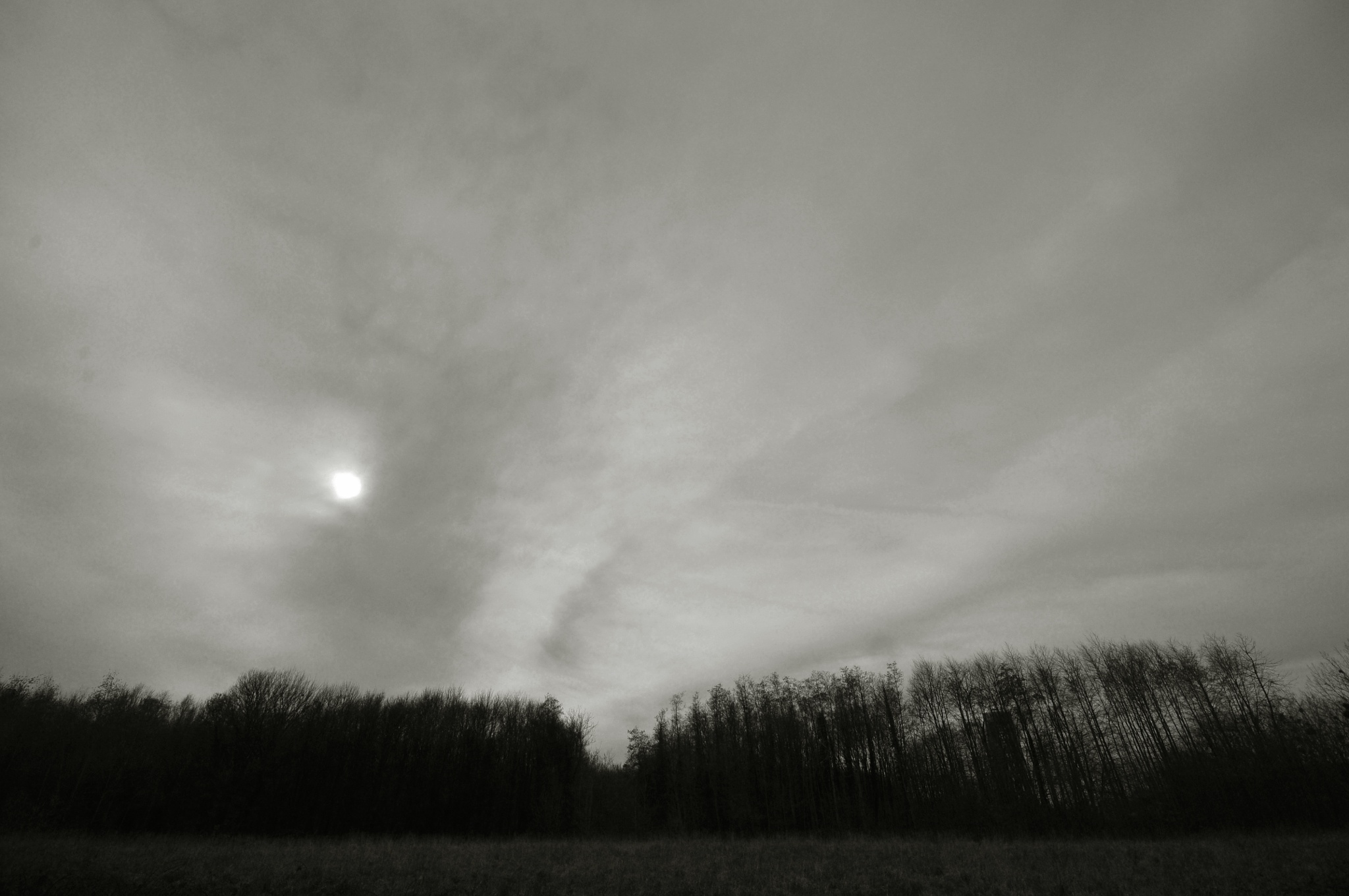 """Pale and """"cloudy"""" sun by JeanGregoireMarin"""