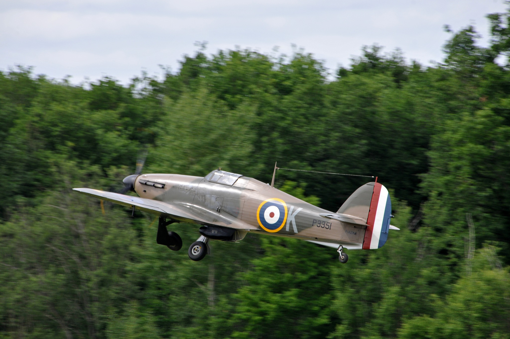 The Hurricane takes off! by JeanGregoireMarin