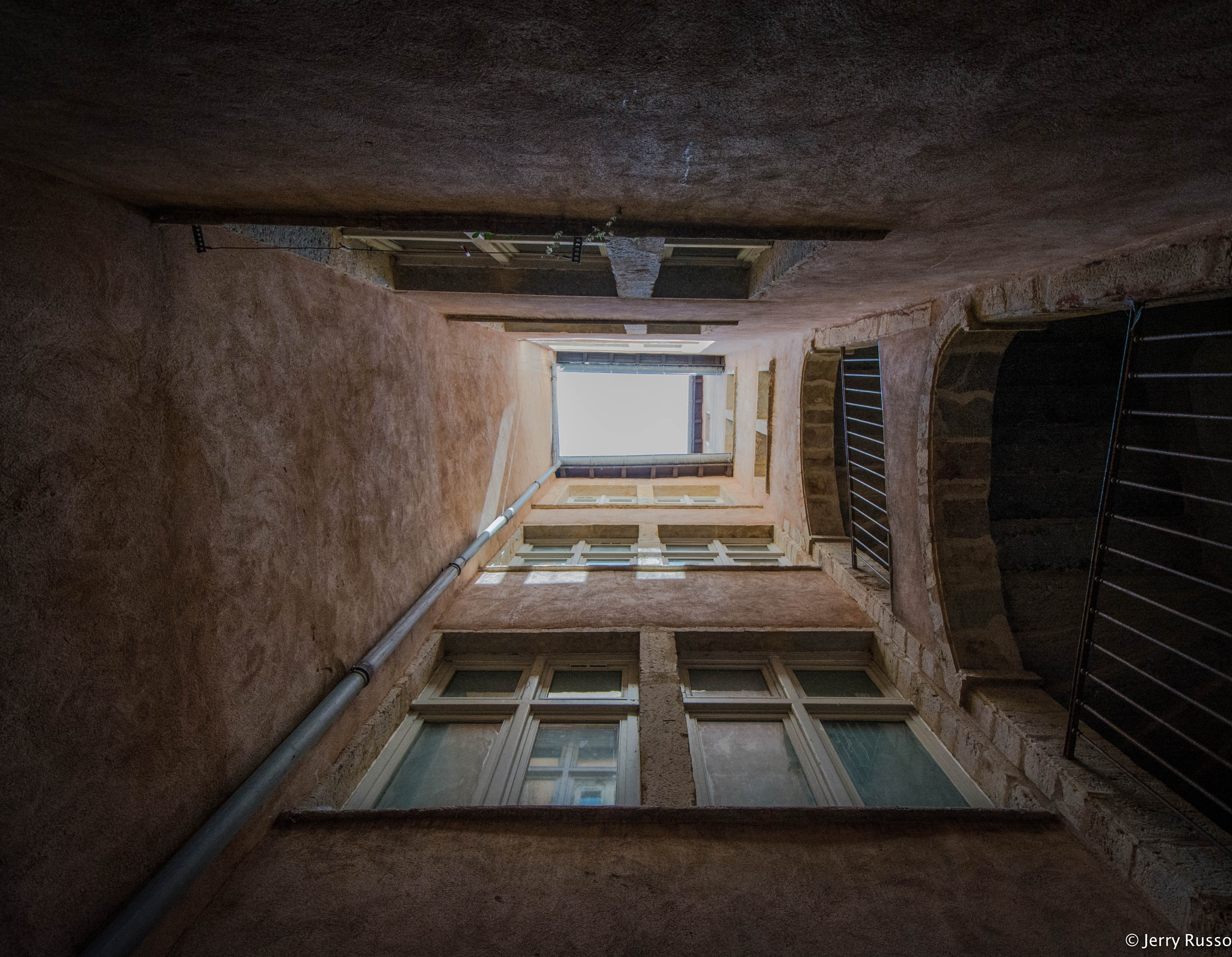 Traboule Lyon by Jerry Russo