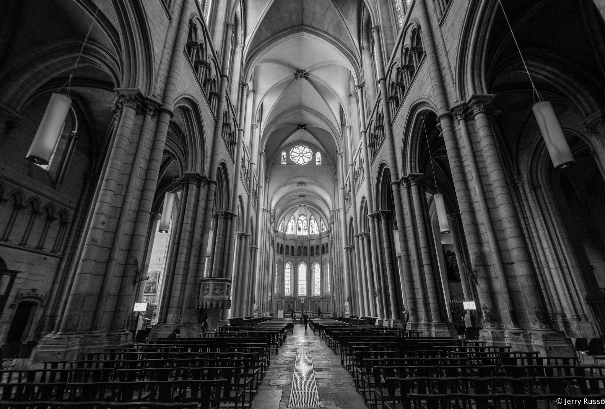 Lyon Church by Jerry Russo