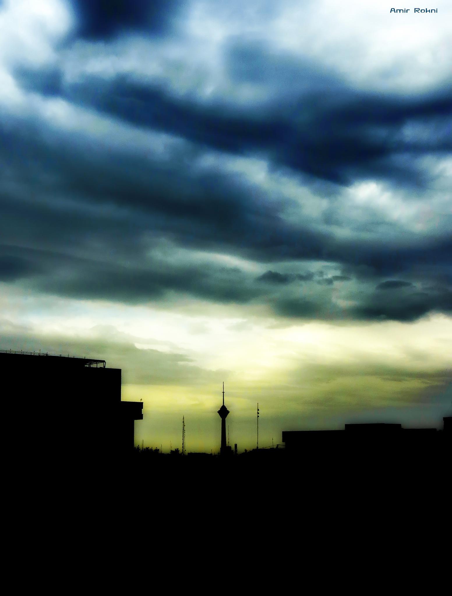 Tehran by amirrokney