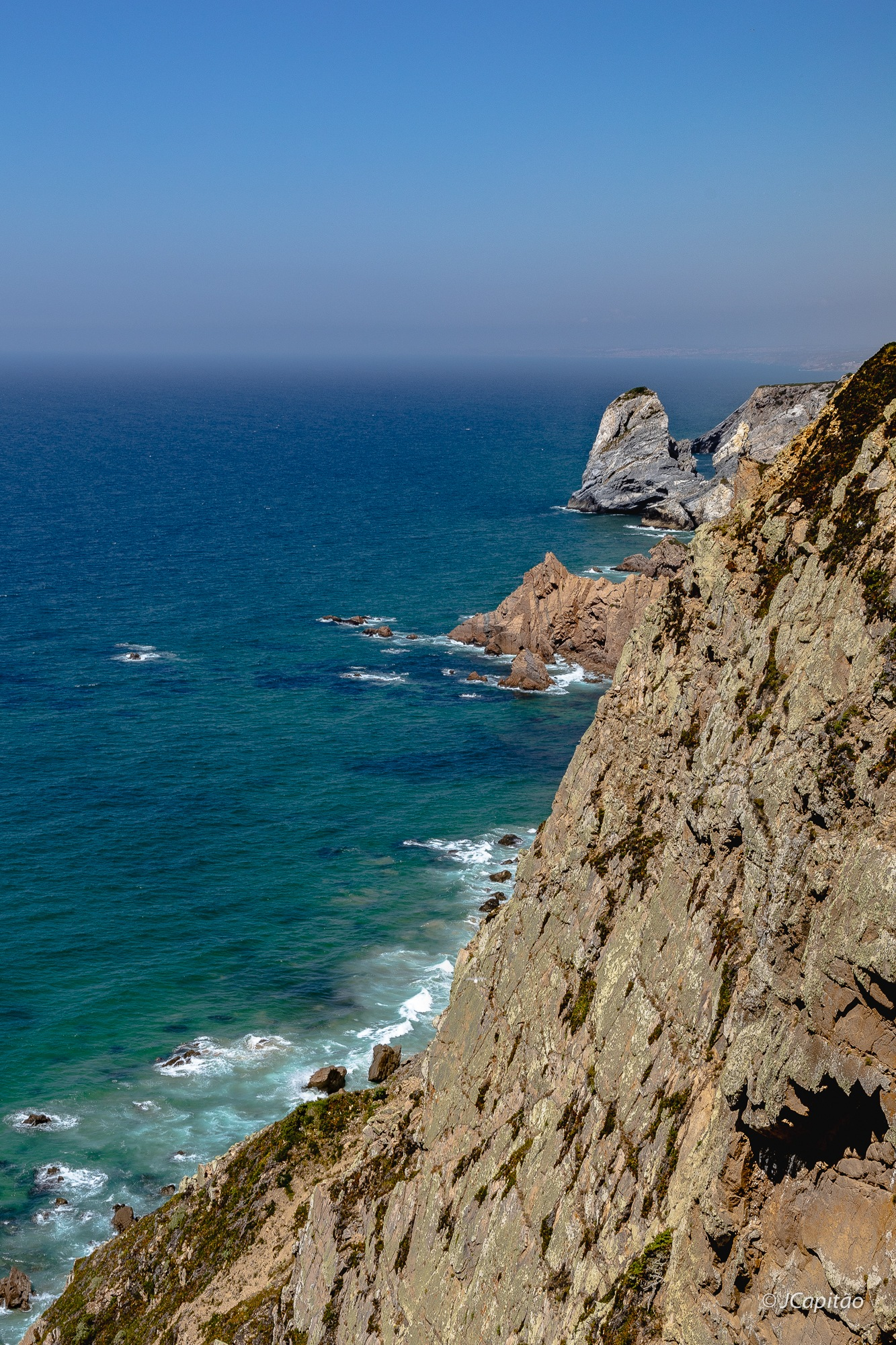 Where the land ends and the sea starts by Joaquim Capitao