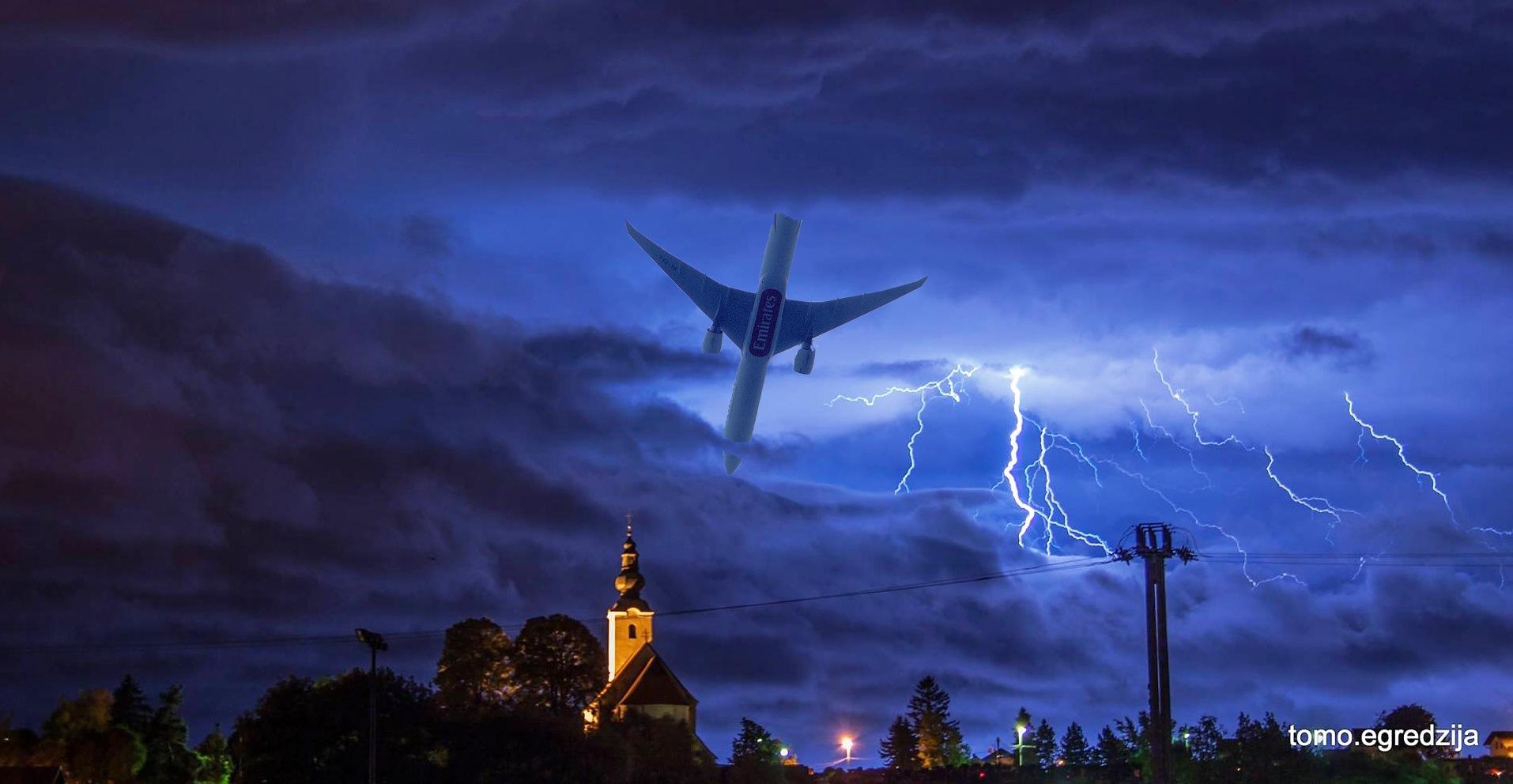 A dangerous flight by Tomo Egredžija