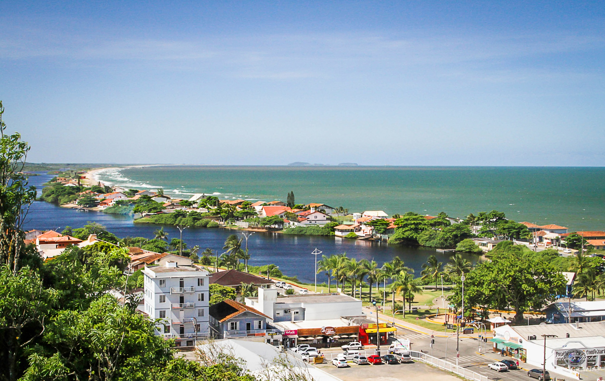 Barra Velha Beach Brasil by Adhemar Rocha