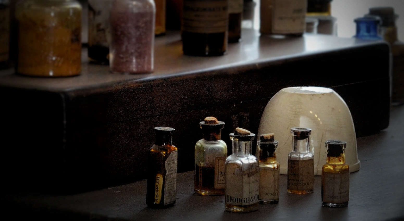 ...just a little bit of that old medicine. by C michael anthony