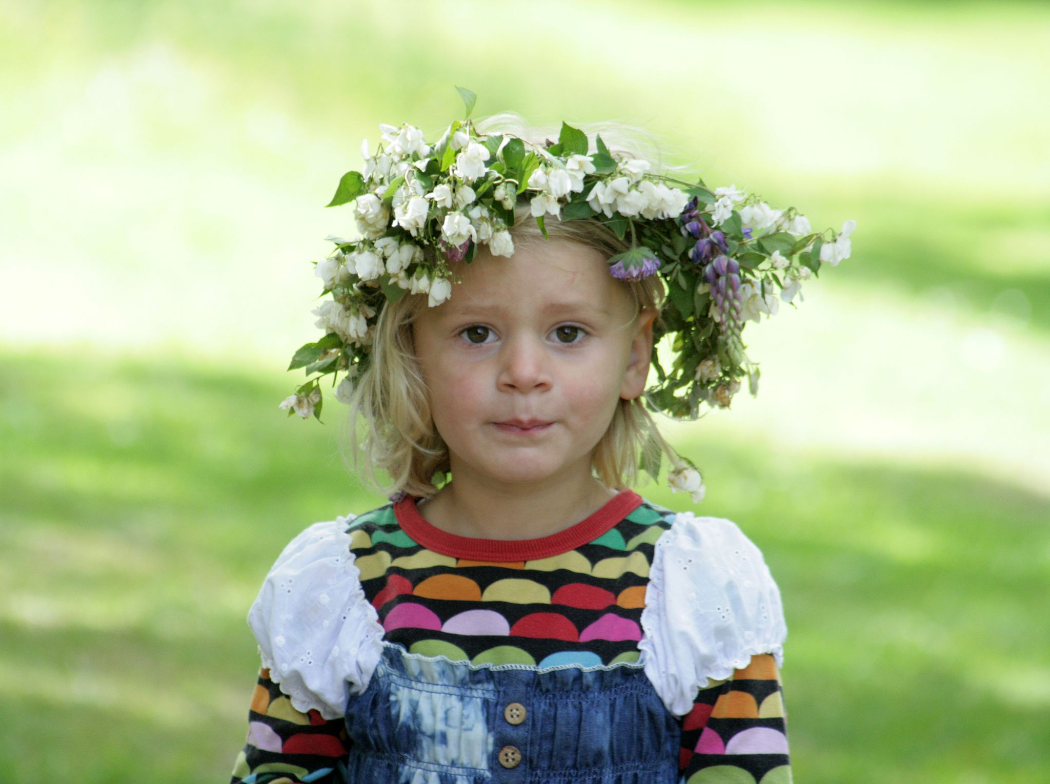 Swedish Midsummer Girl by monanorrman