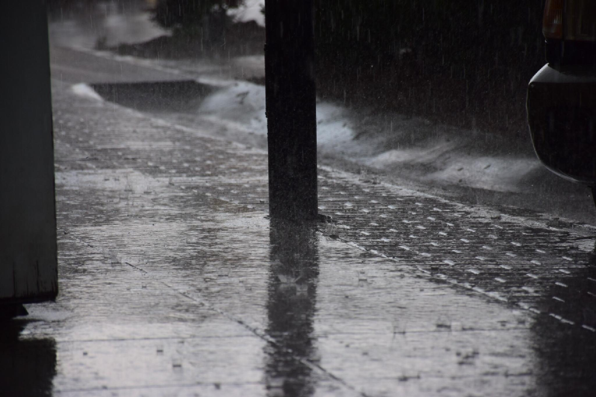 Ashe County Rain by Jay Chamberlain