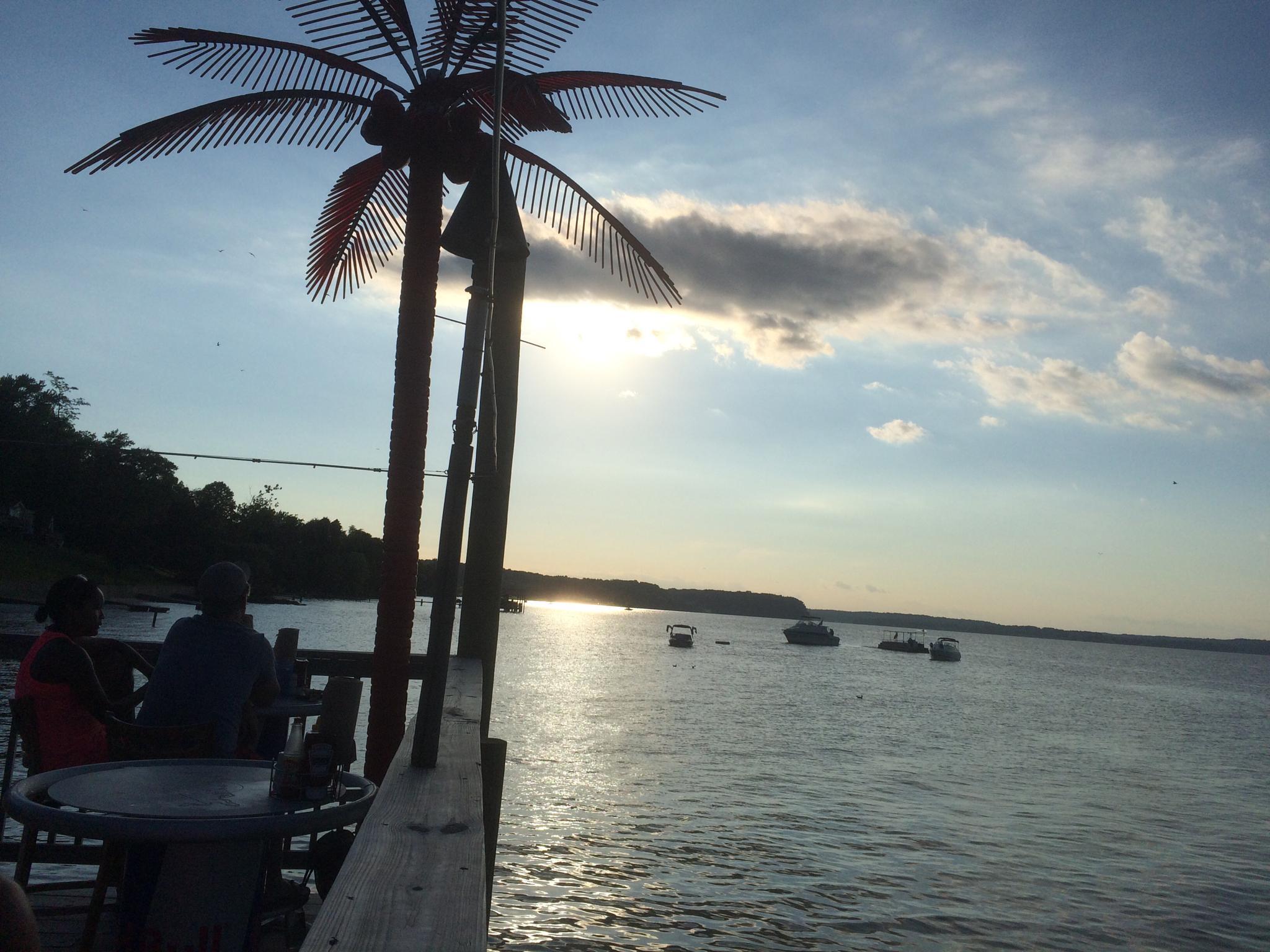 Potomac Sunset by Jay Chamberlain