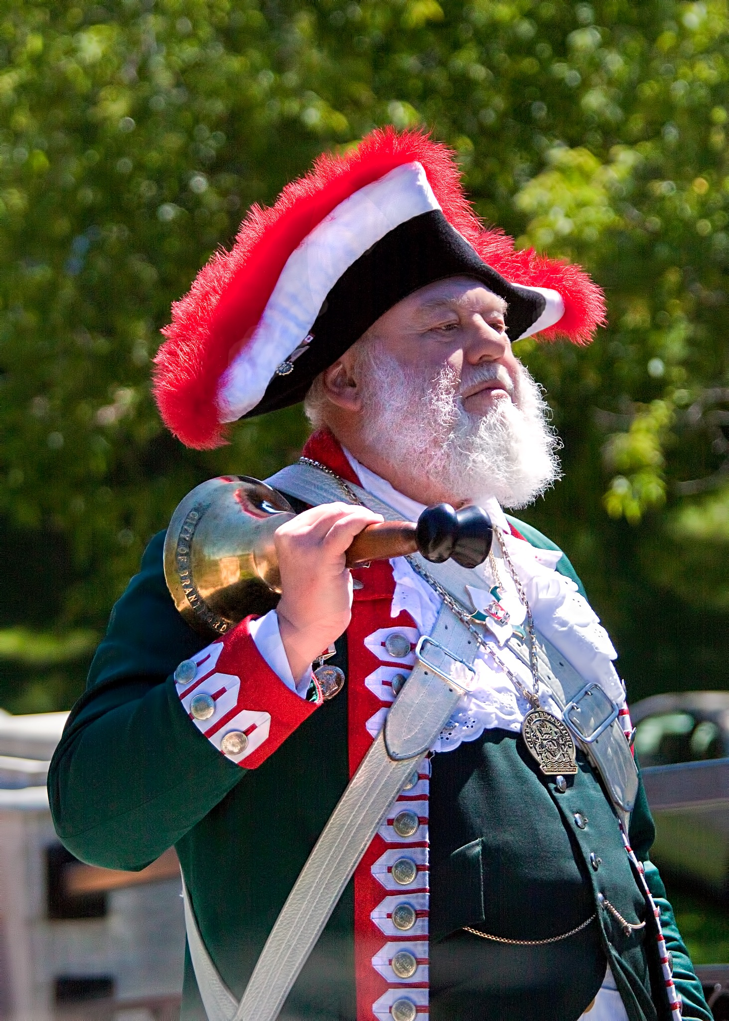 Town Cryer by Bobjb