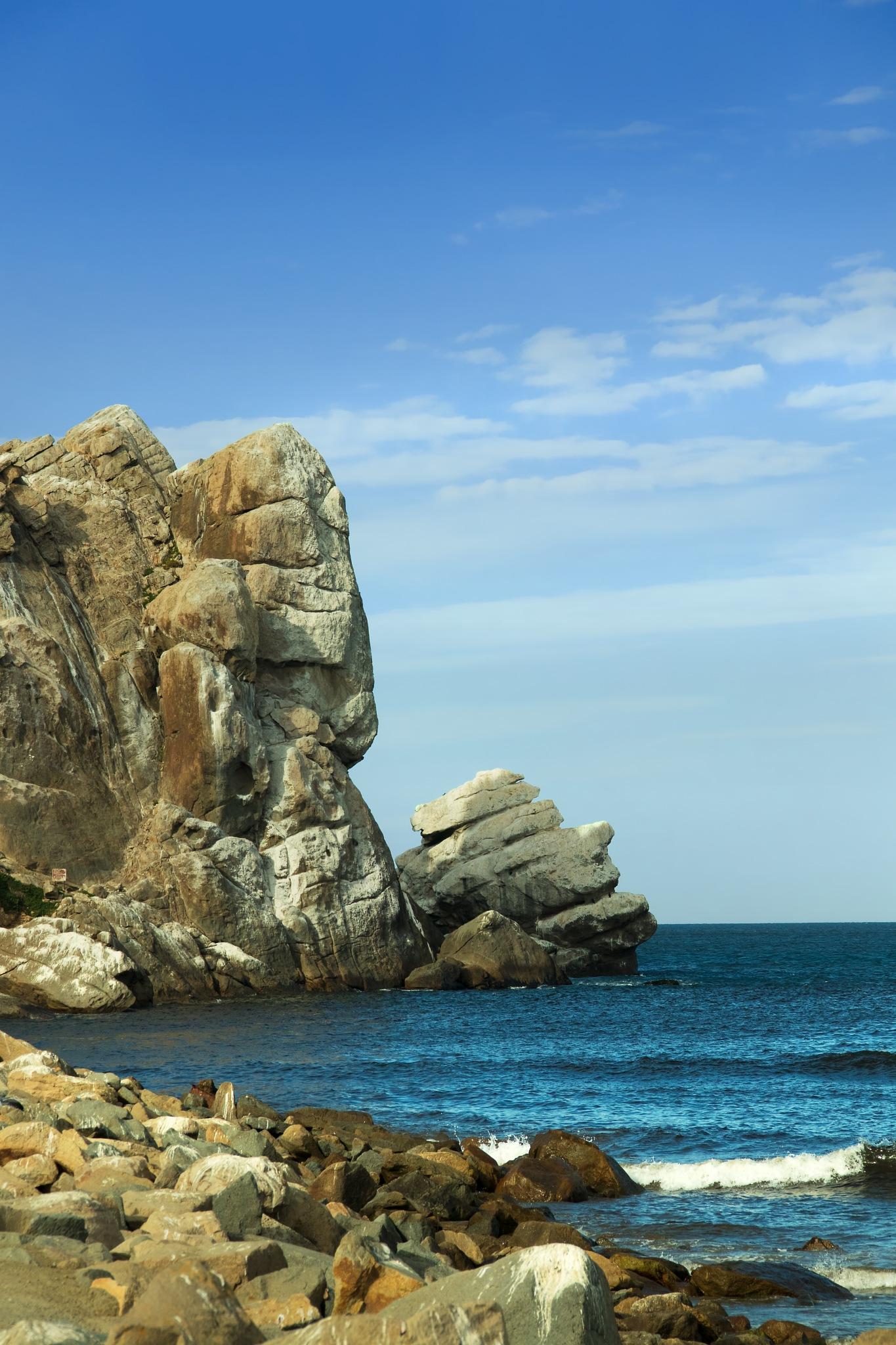 Rocks at Morro Bay by Bobjb