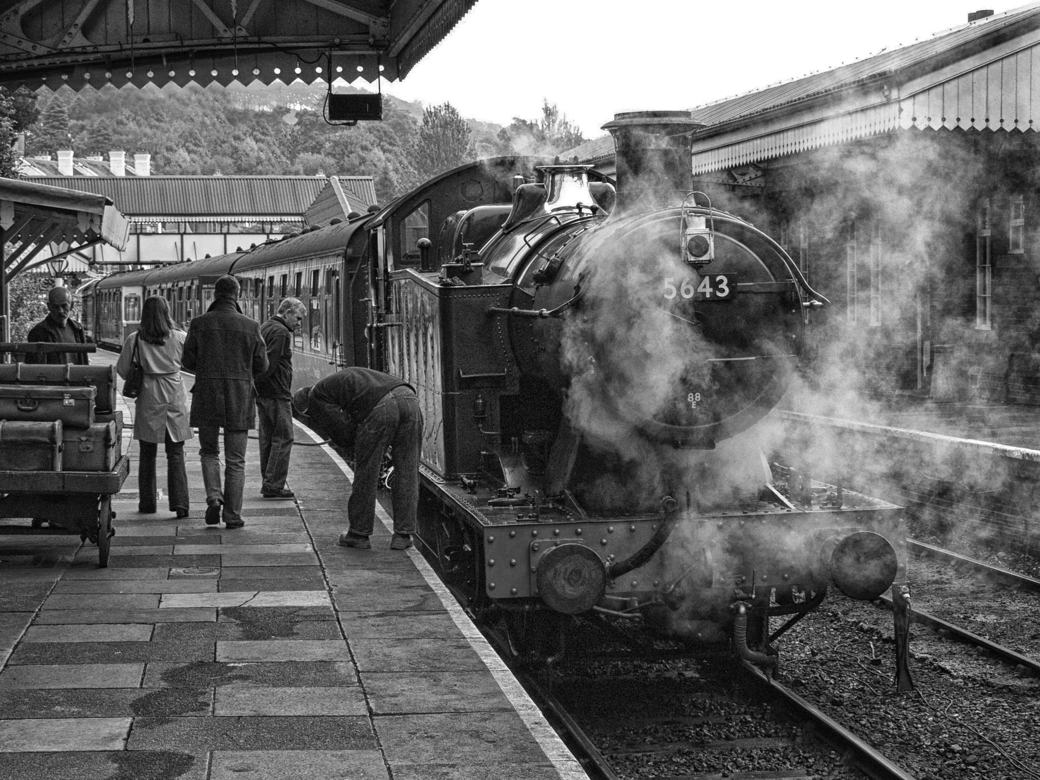 Llangollen Station by malco555